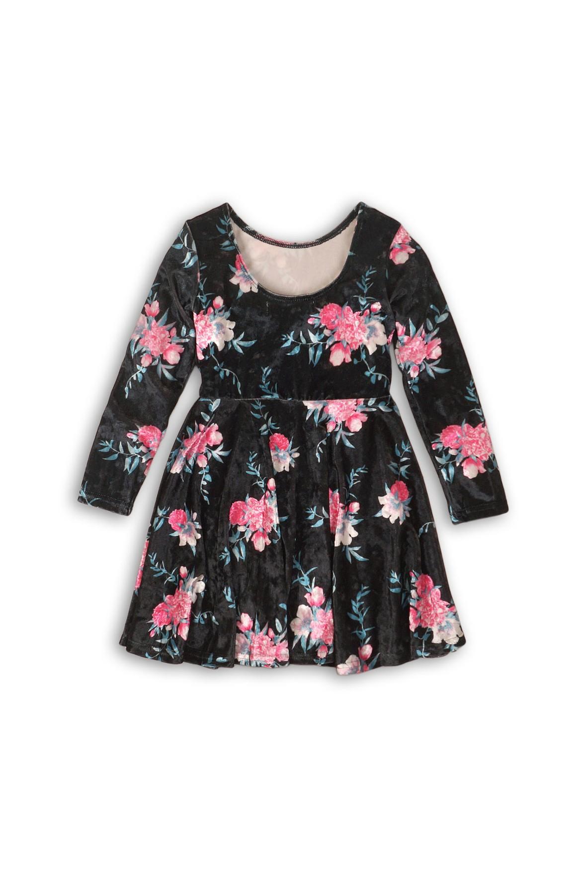 Sukienka dziewczęca w kwiaty