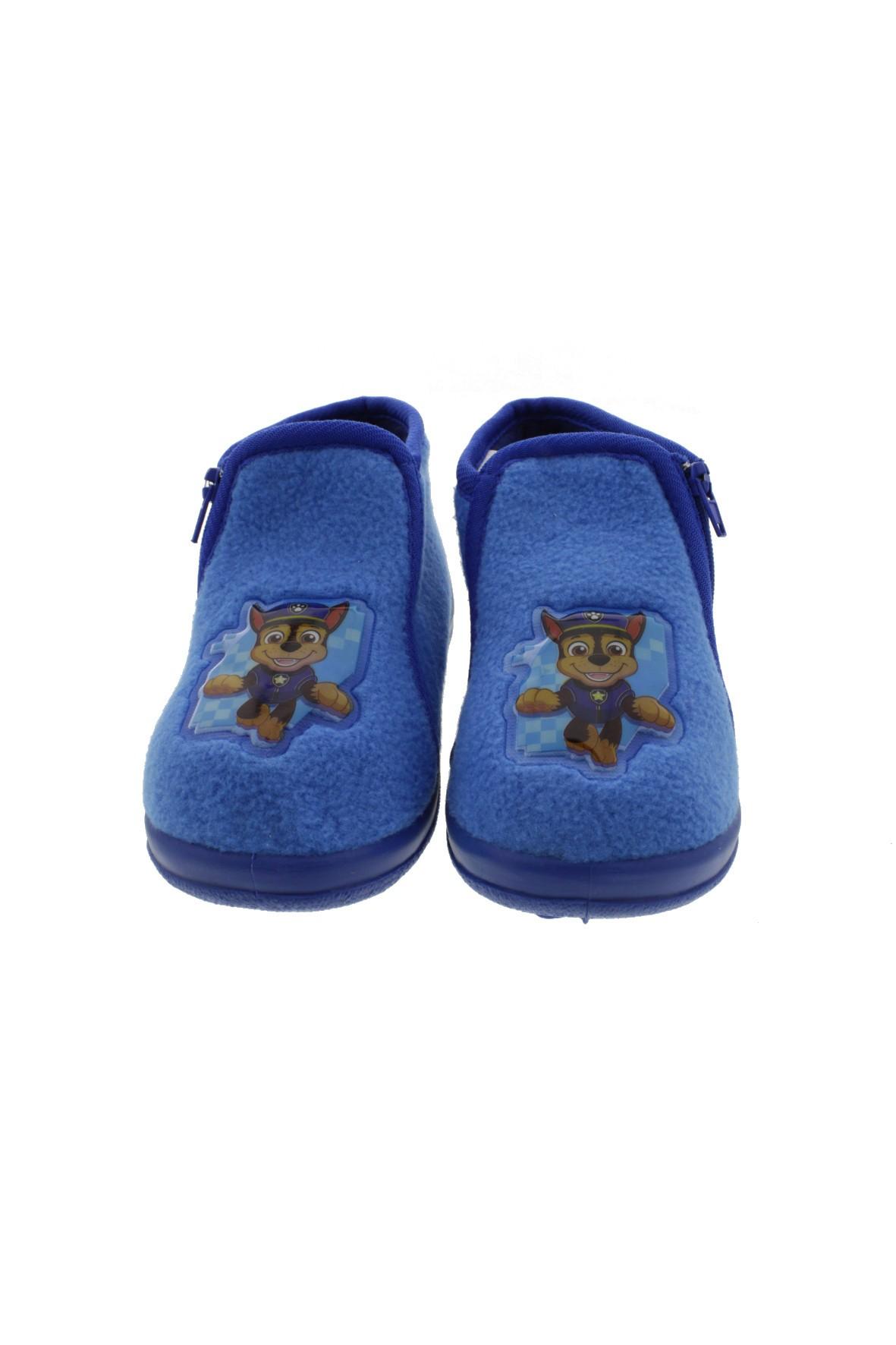 Kapcie chłopięce Psi Patrol - niebieskie