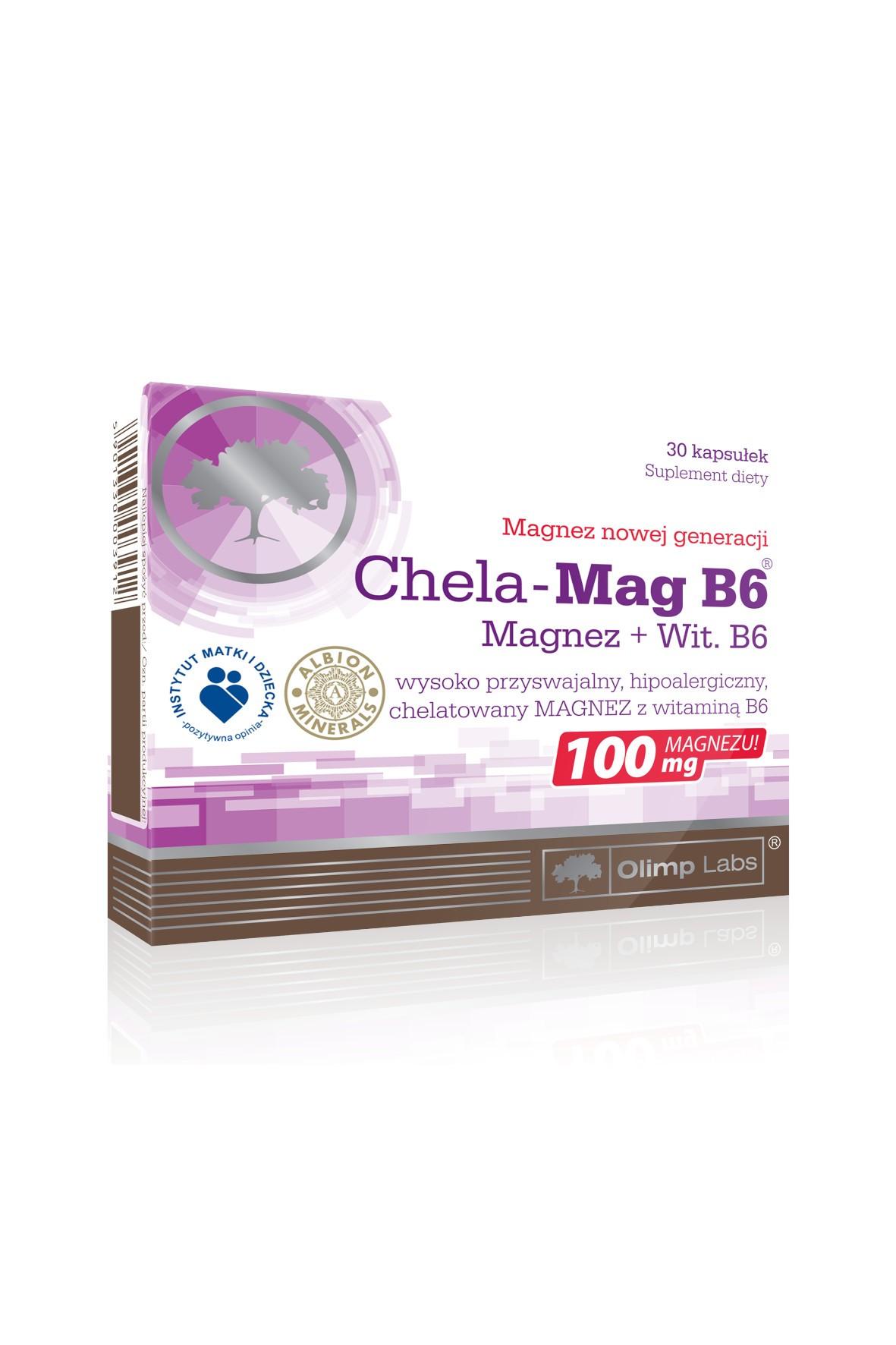 Chela-Mag B6 30 kapsułek TOP