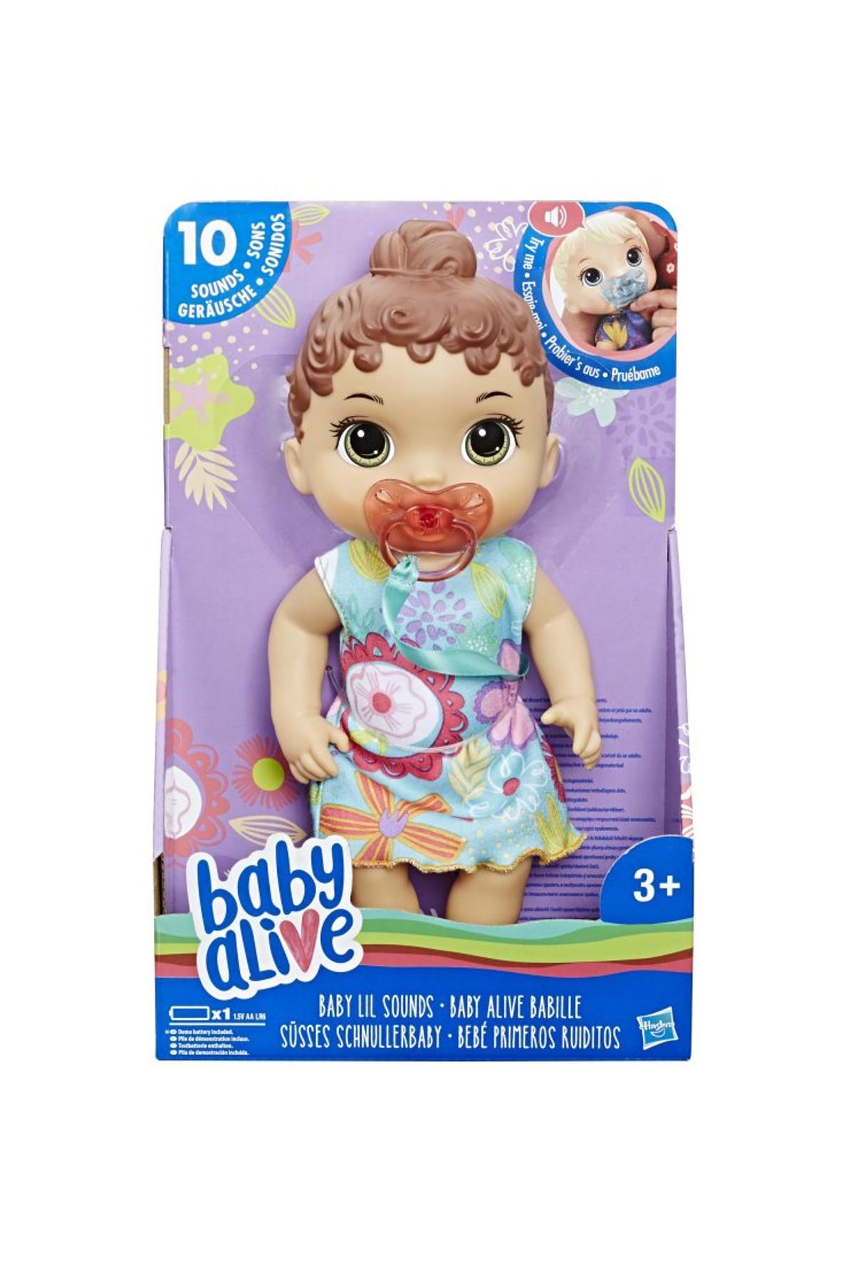 Baby Alive Lala Słodkie Dźwięki - Brunetka 3+