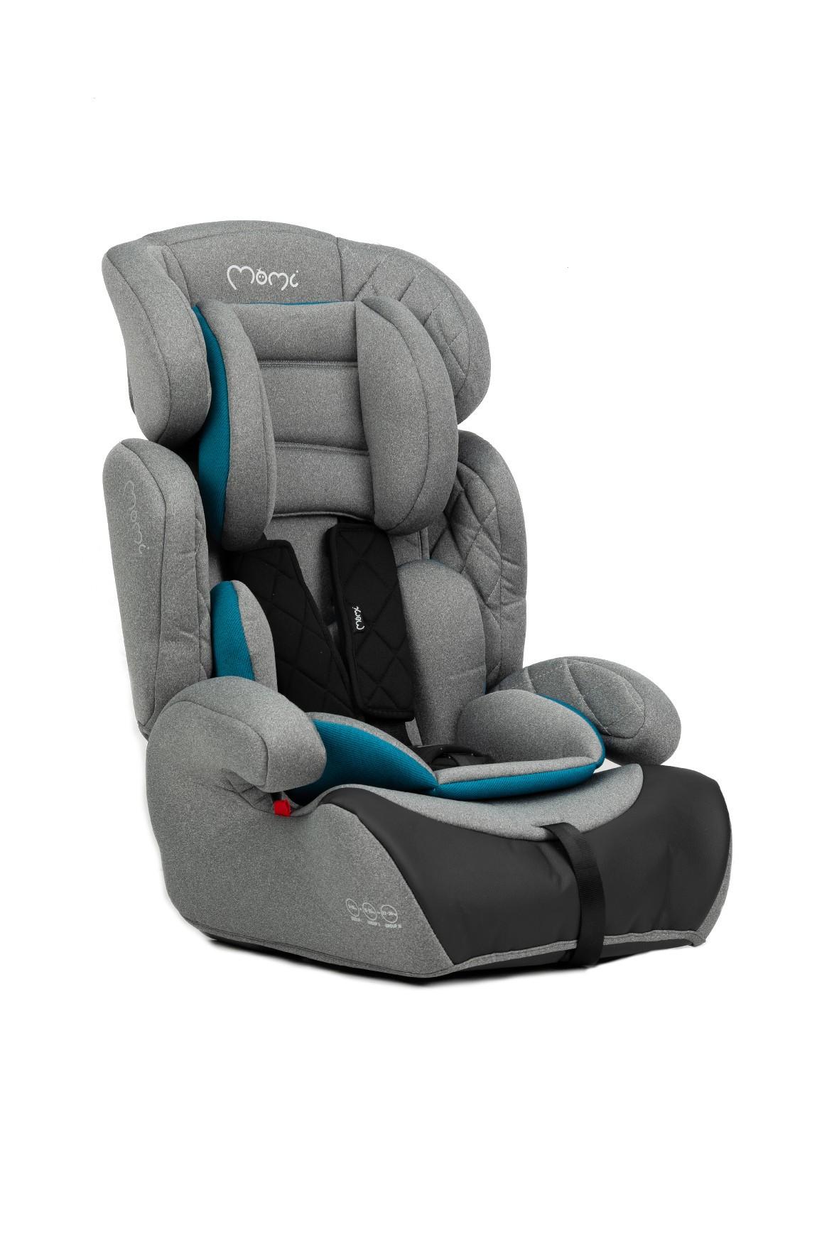 Momi Axo fotelik samochodowy szaro- turkusowy 9-36kg