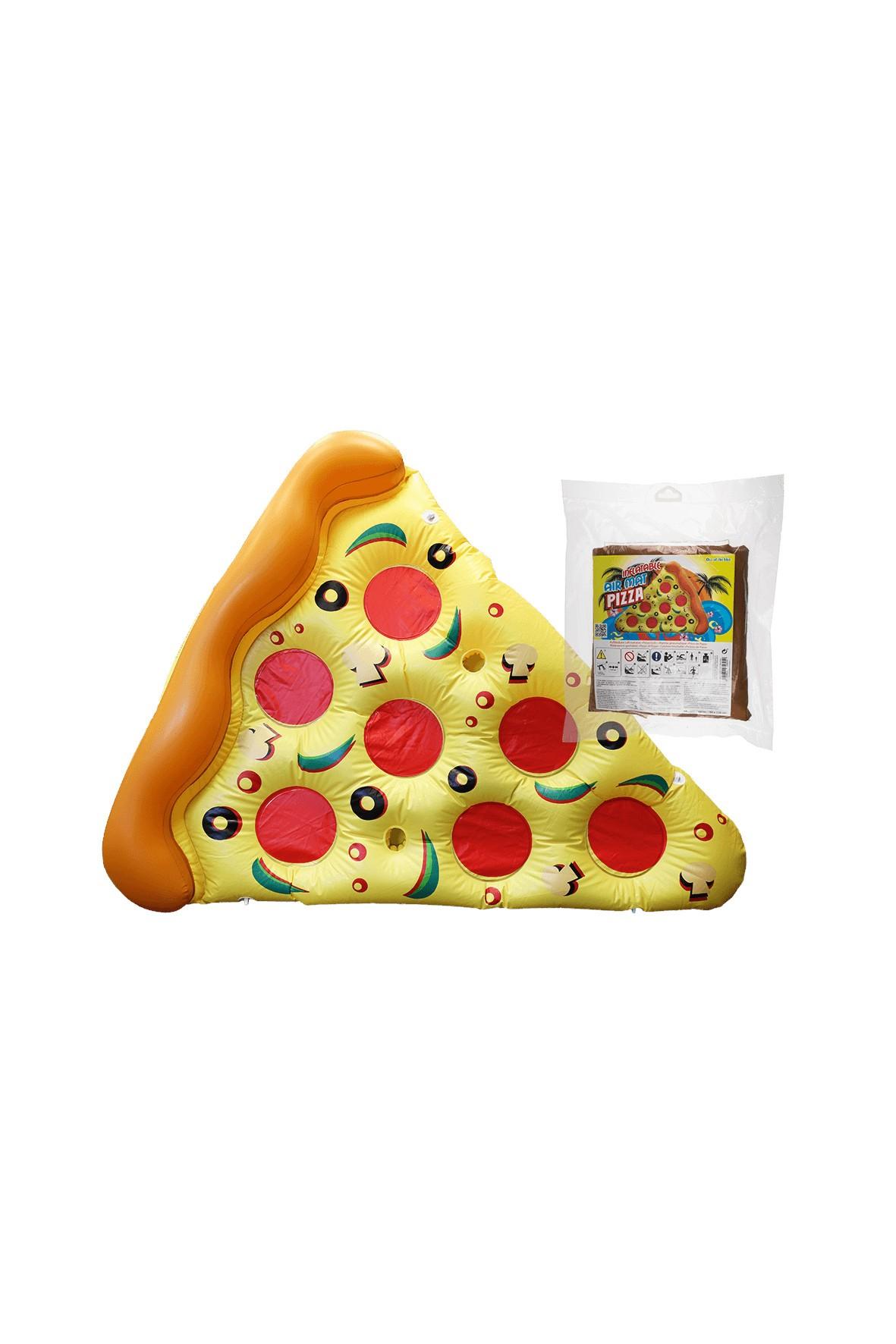 Nadmuchiwany Materac Pizza - 35x31x13 cm