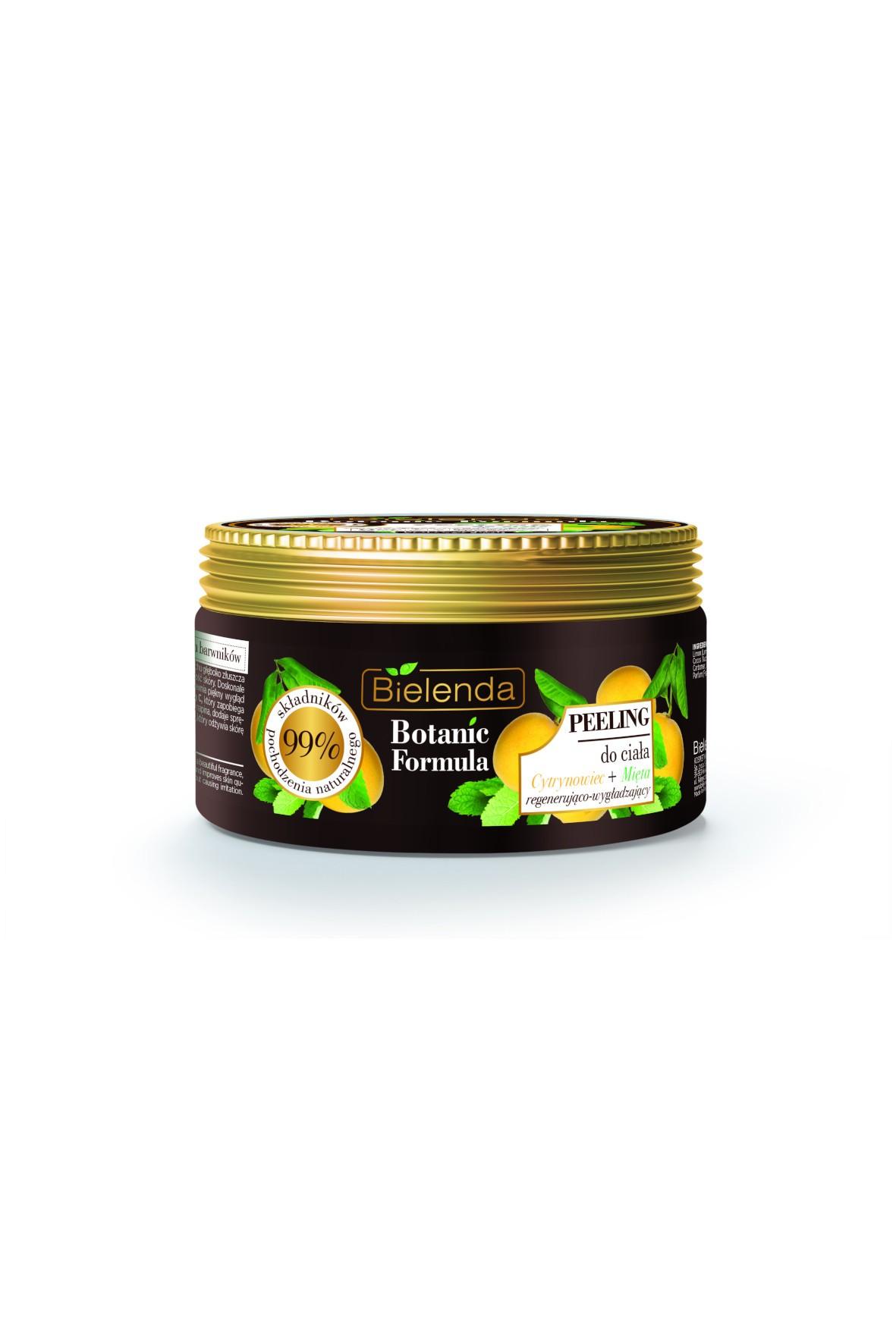 BOTANIC FORMULA Cytrynowiec + Mięta Peeling do ciała Bielenda - 350g
