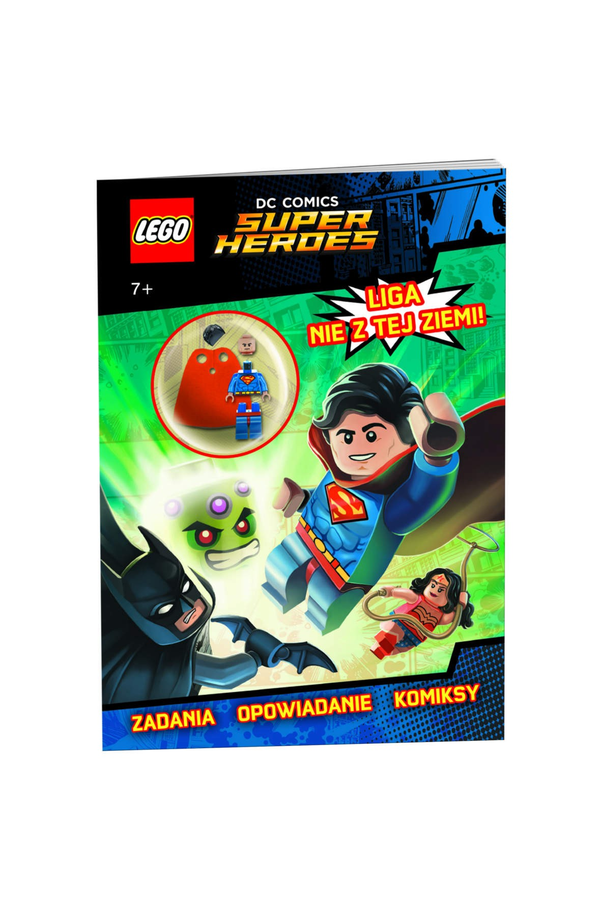 Książka Lego Super Heros