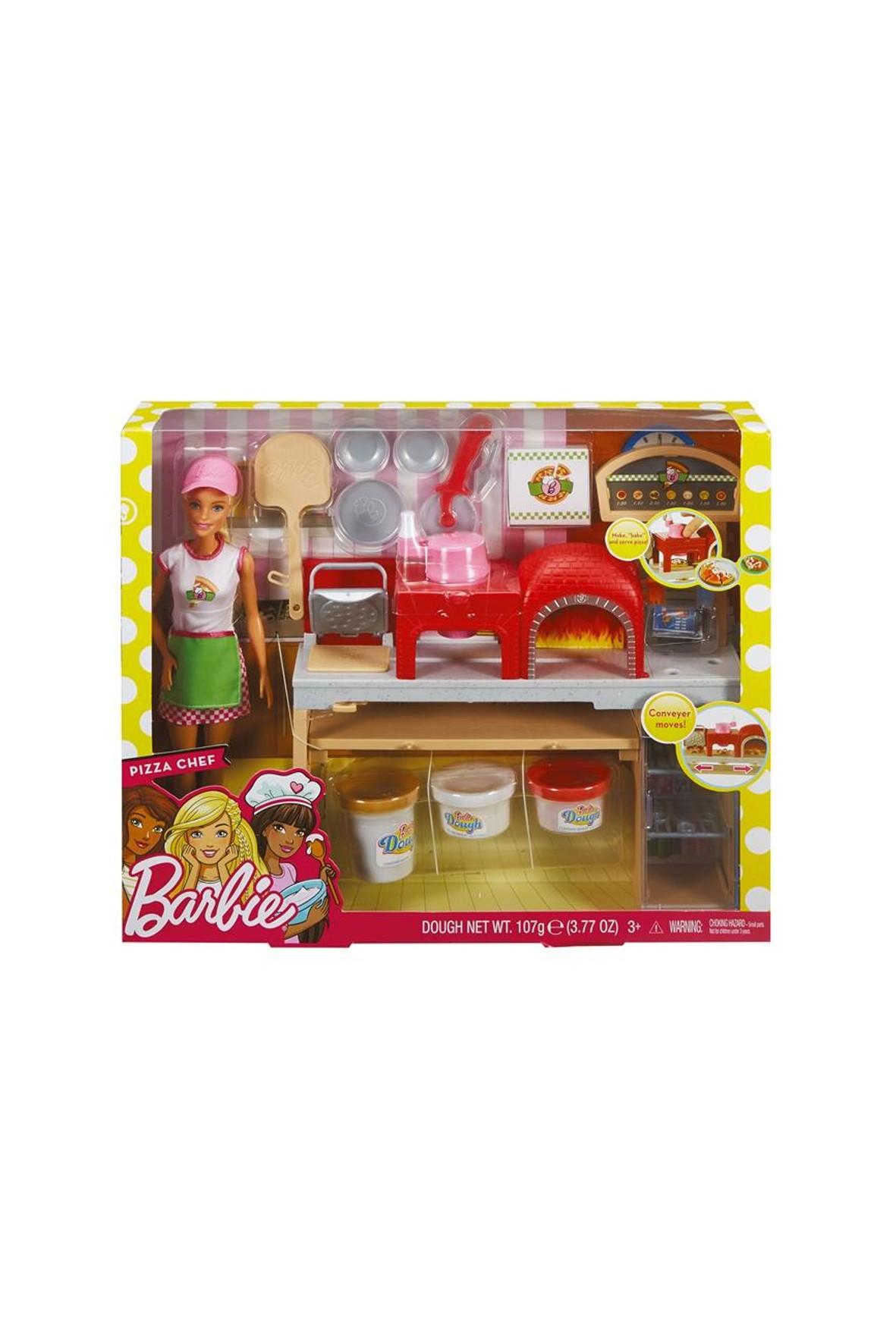 Barbie Pizzera zestaw z lalką