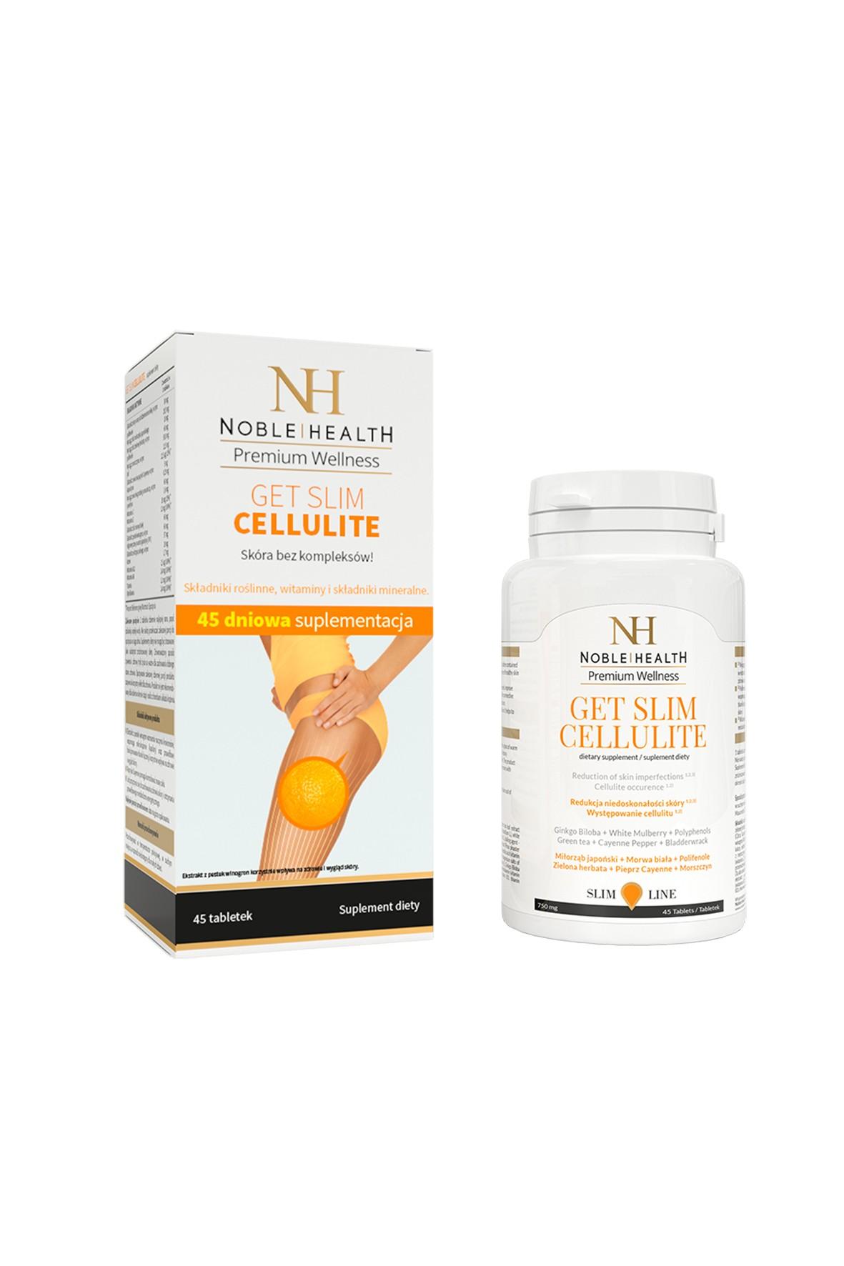 Get Slim Cellulite  Noble Health 45 kapsułek