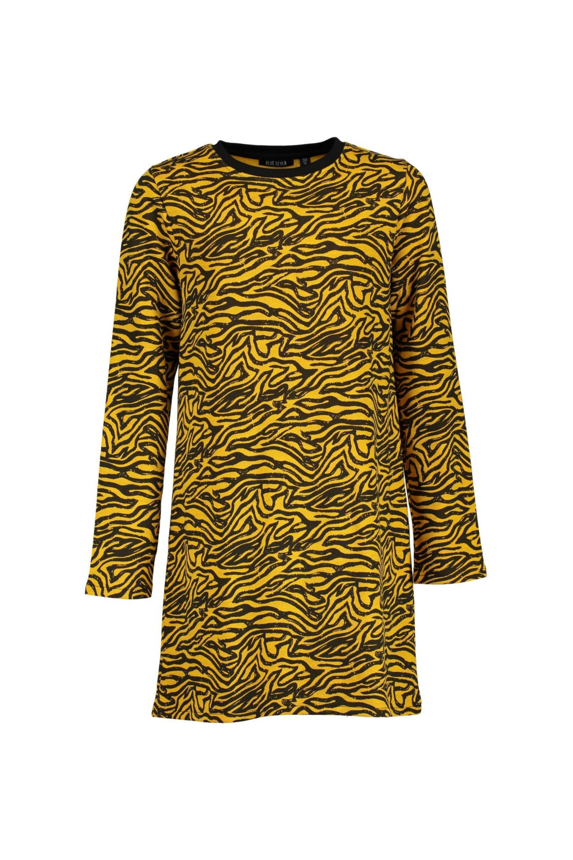 Sukienka dziewczęca 100% bawełna czarno żółte wzory