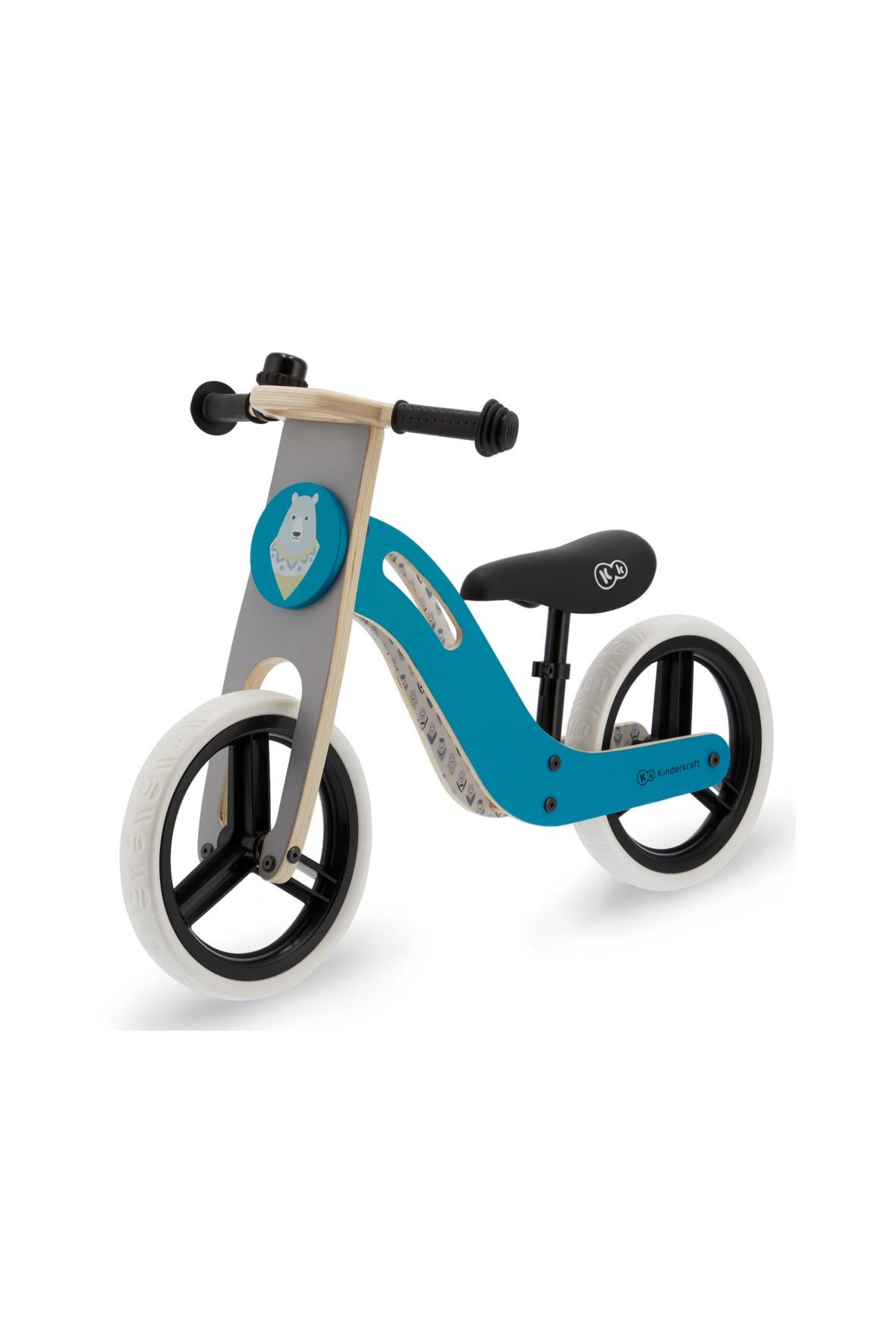 Kinderkraft rowerek biegowy UNIQ turkus