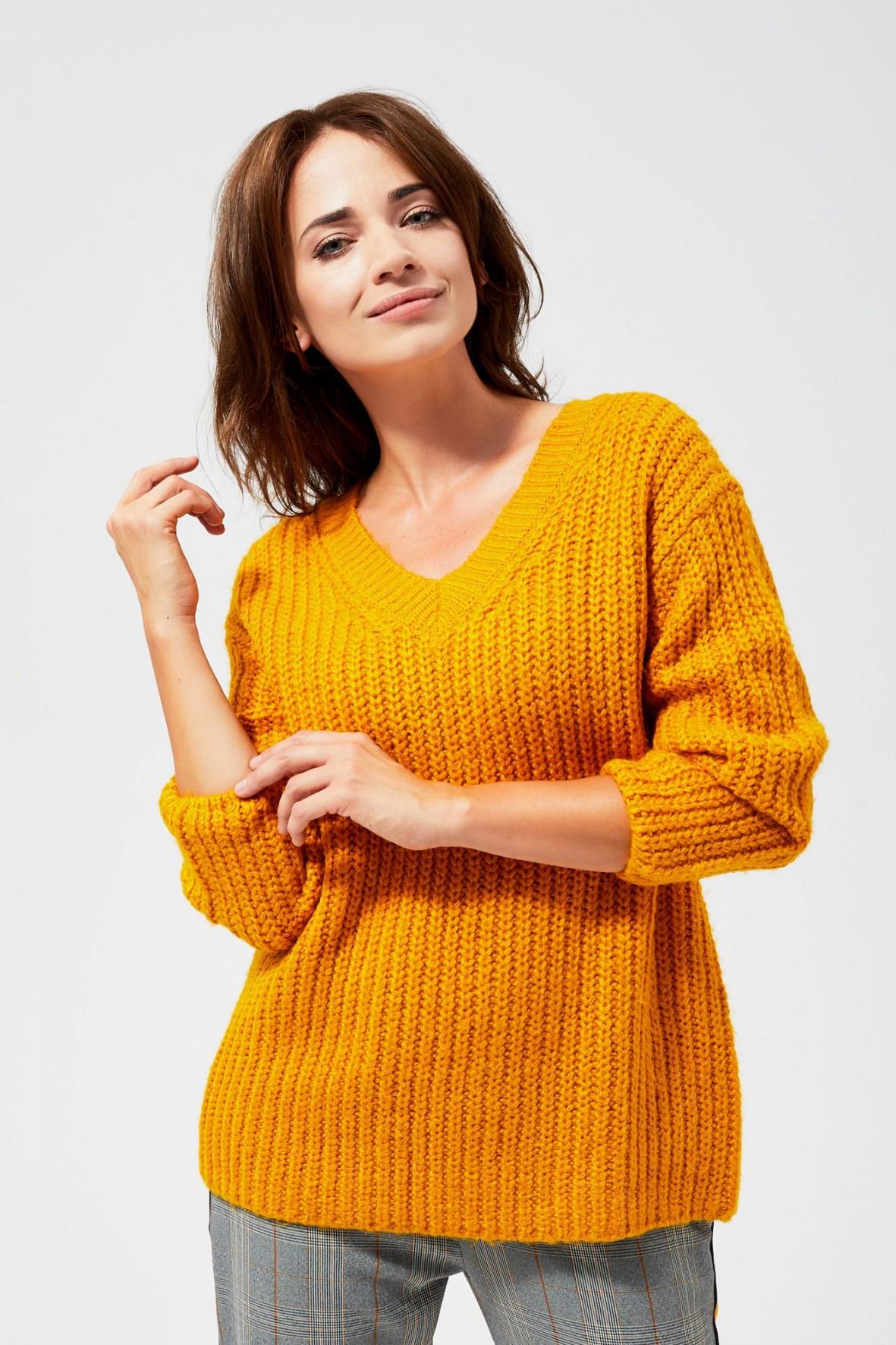 Sweter oversize damski