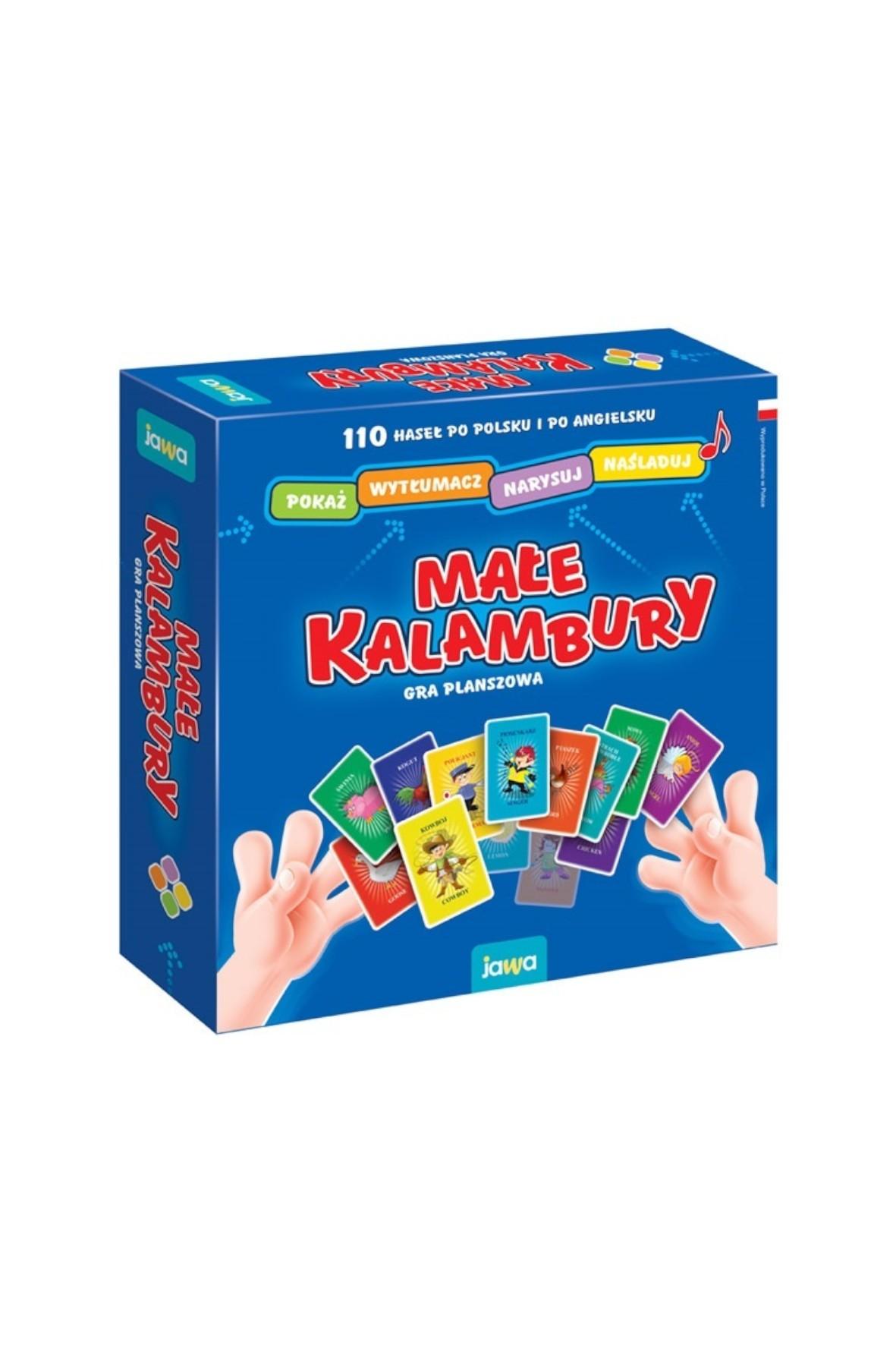 Gra Małe Kalambury wiek 6+