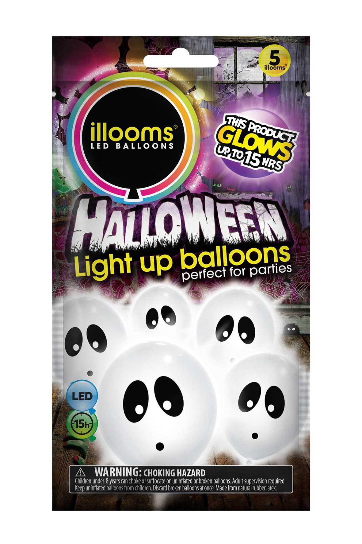Świecące balony 4szt