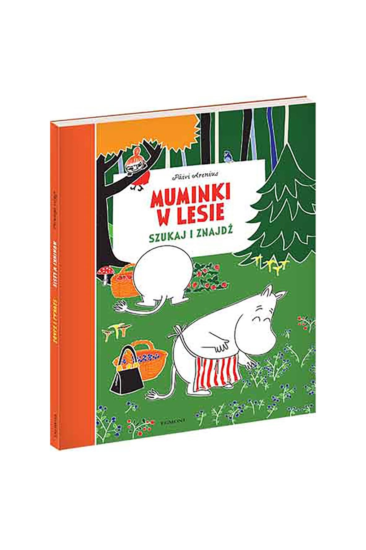 Muminki W Lesie. Szukaj I Znajdź - książka dla dzieci