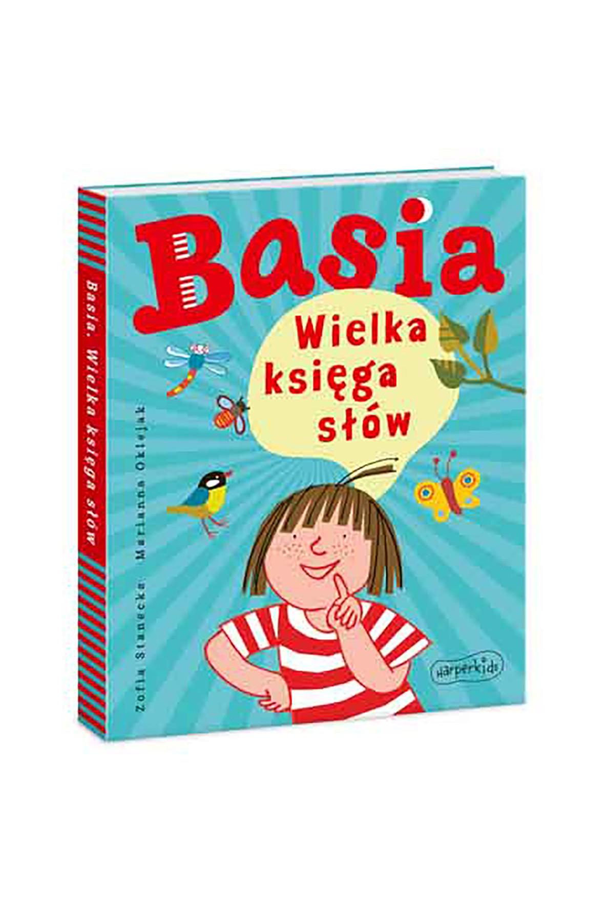 Basia. Wielka Księga Słów - książka dla dzieci