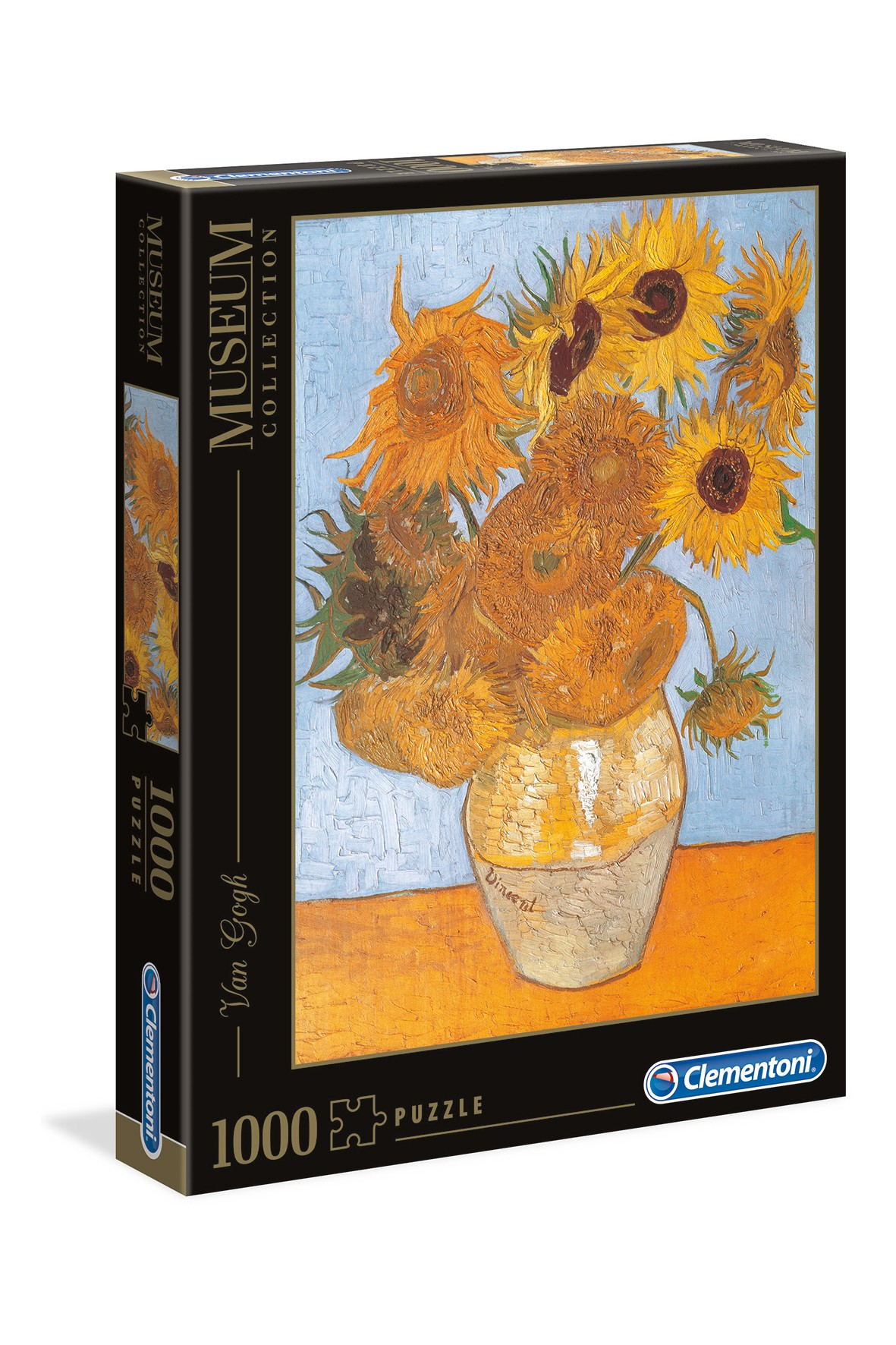 Puzzle 1000 museum Van Gogh Słoneczniki 31438