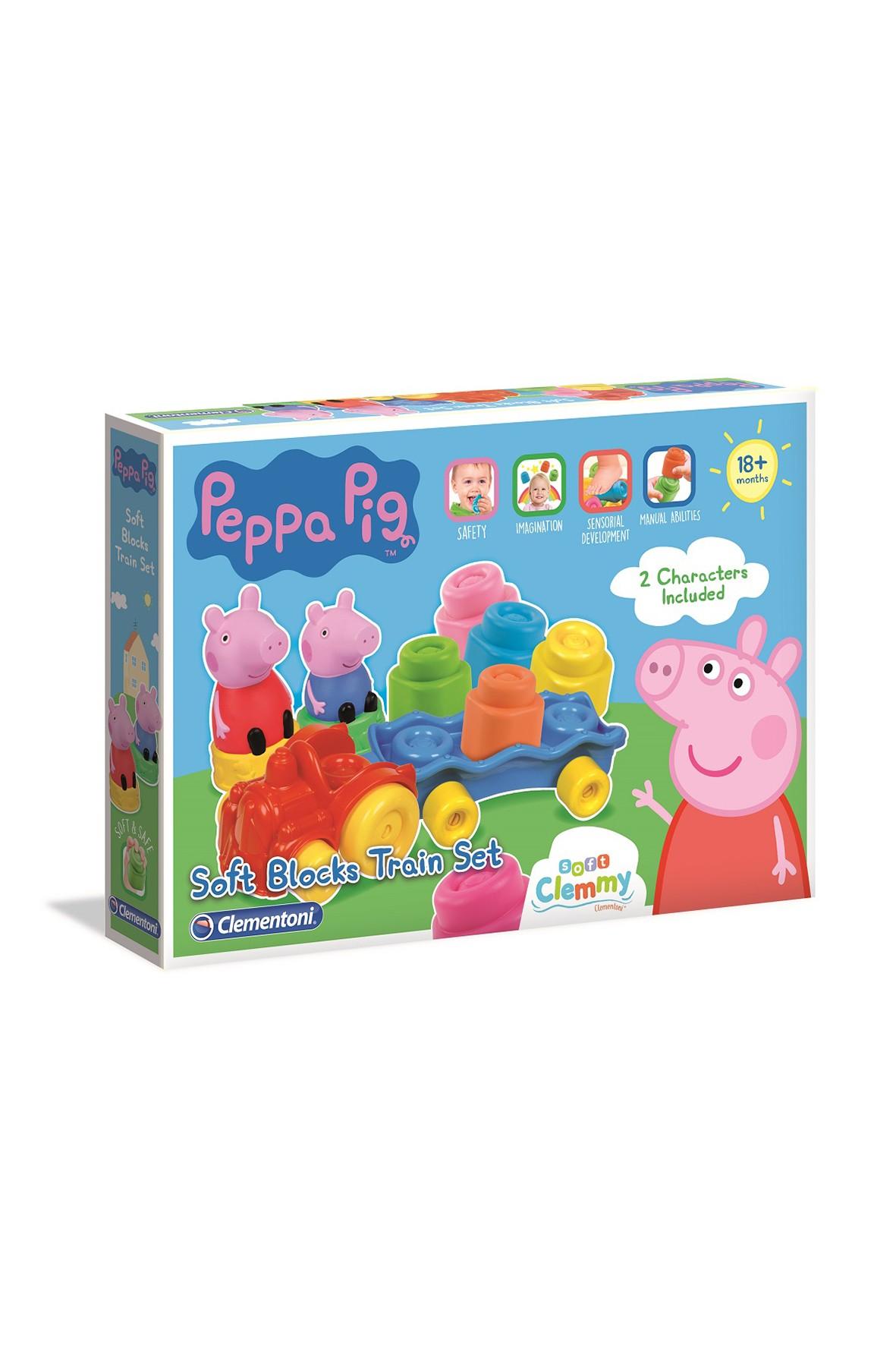 Zestaw - Klocki Clemmy Peppa Pig wiek 18msc+
