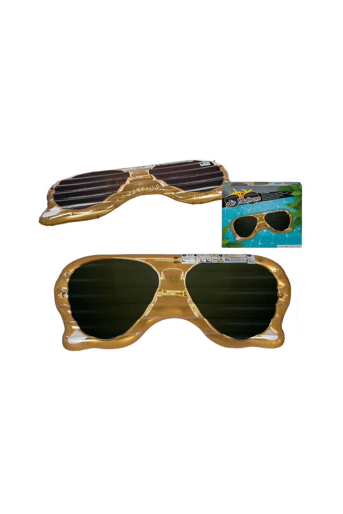 Materac do pływania - Okulary - 24x29x5,5 cm