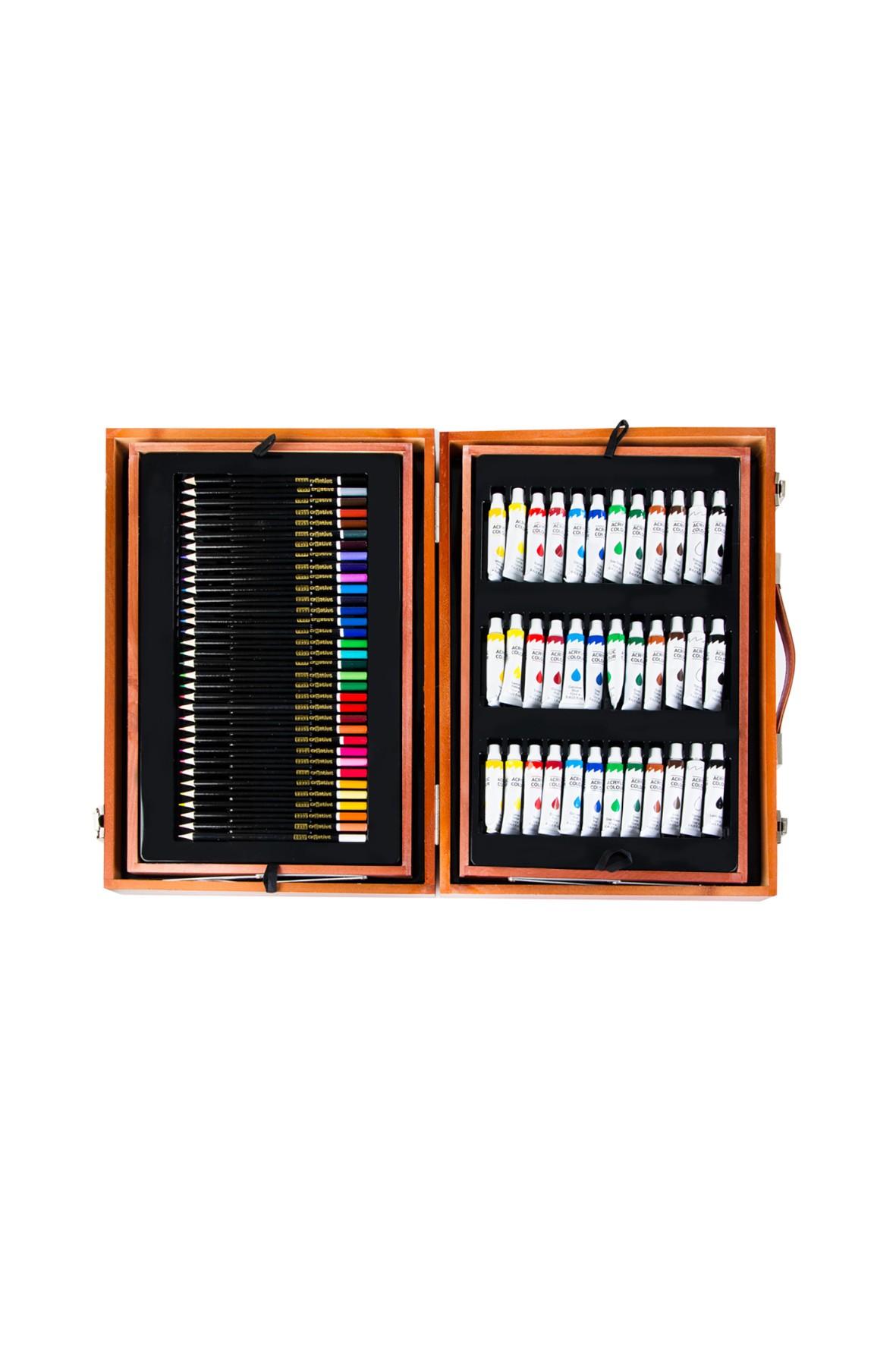 Zestaw artystyczny dla dzieci- ART SET-174 elementów