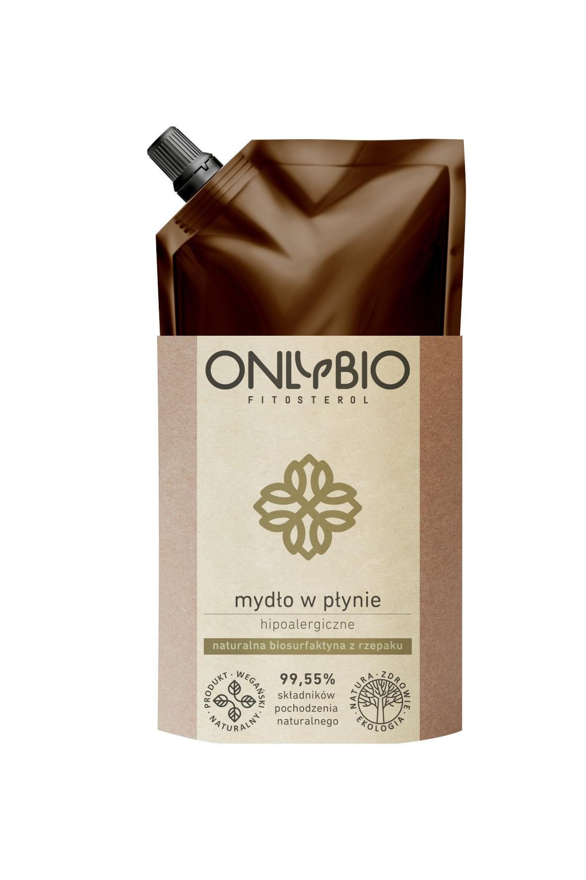 Mydło w płynie hipoalergiczne OnlyBio 500ml