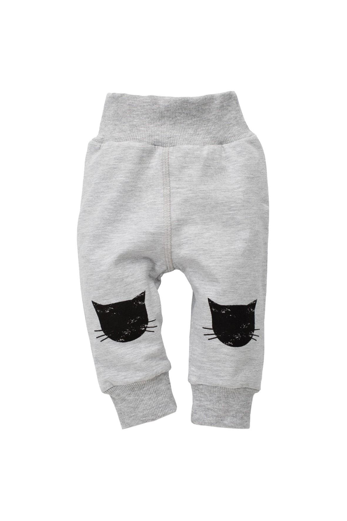 Spodnie niemowlęce dresowe