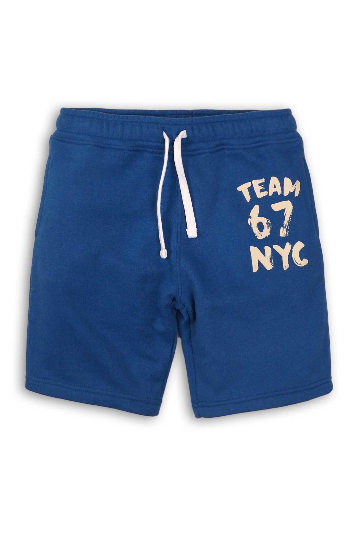 Spodenki chłopięce niebieskie NYC