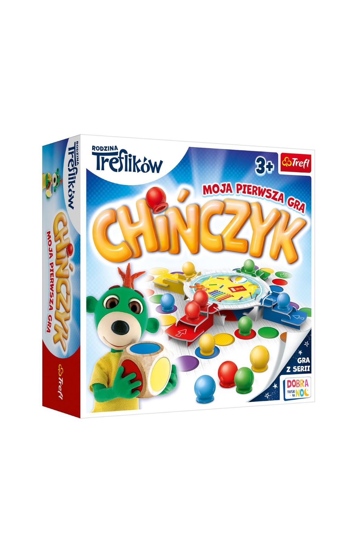 Gra - Chińczyk Moja pierwsza gra Trefliki wiek 3+