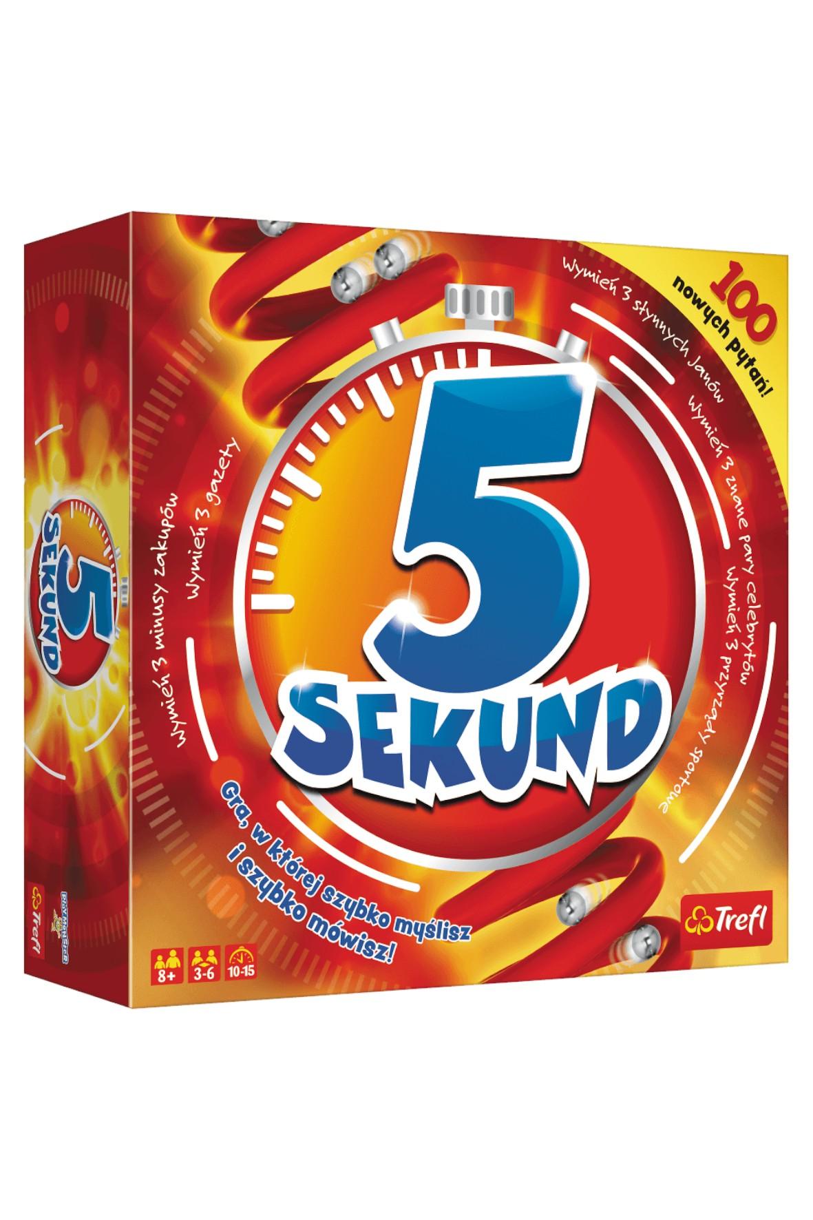 "Gra ""5 Sekund"" edycja 2019 8+"