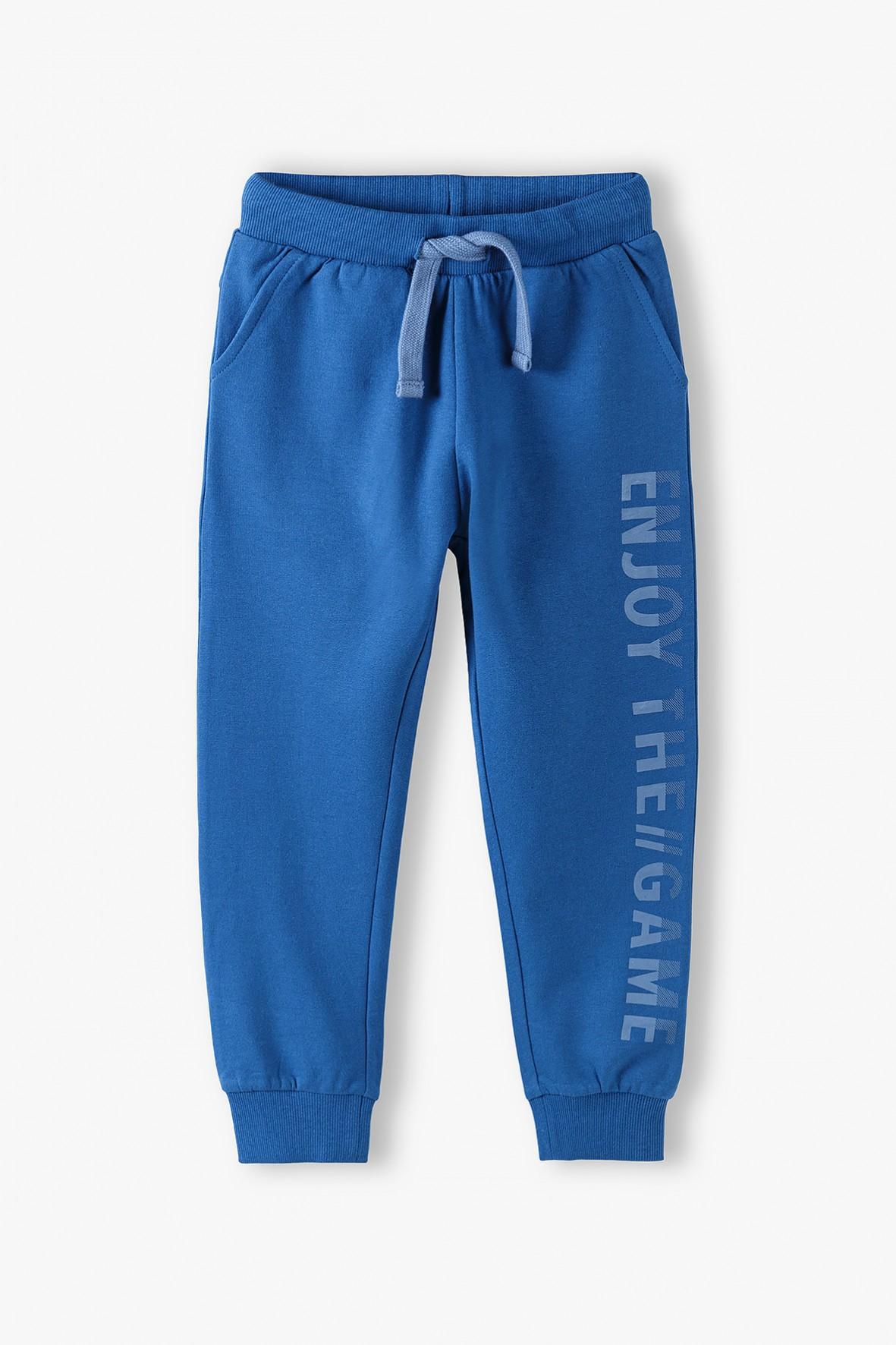 Bawełniane spodnie dresowe dla chłopca
