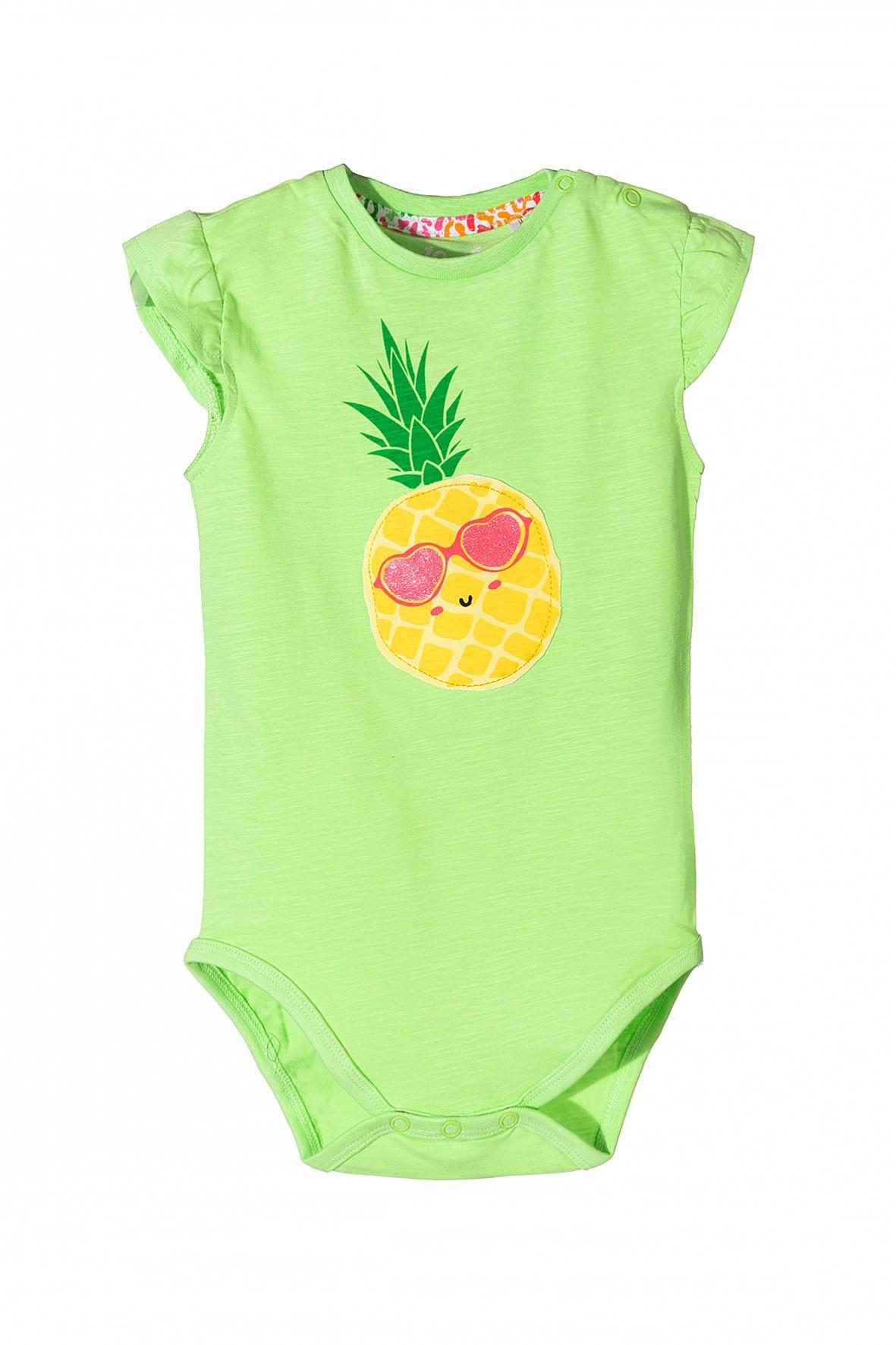 Body niemowlęce z ananasem