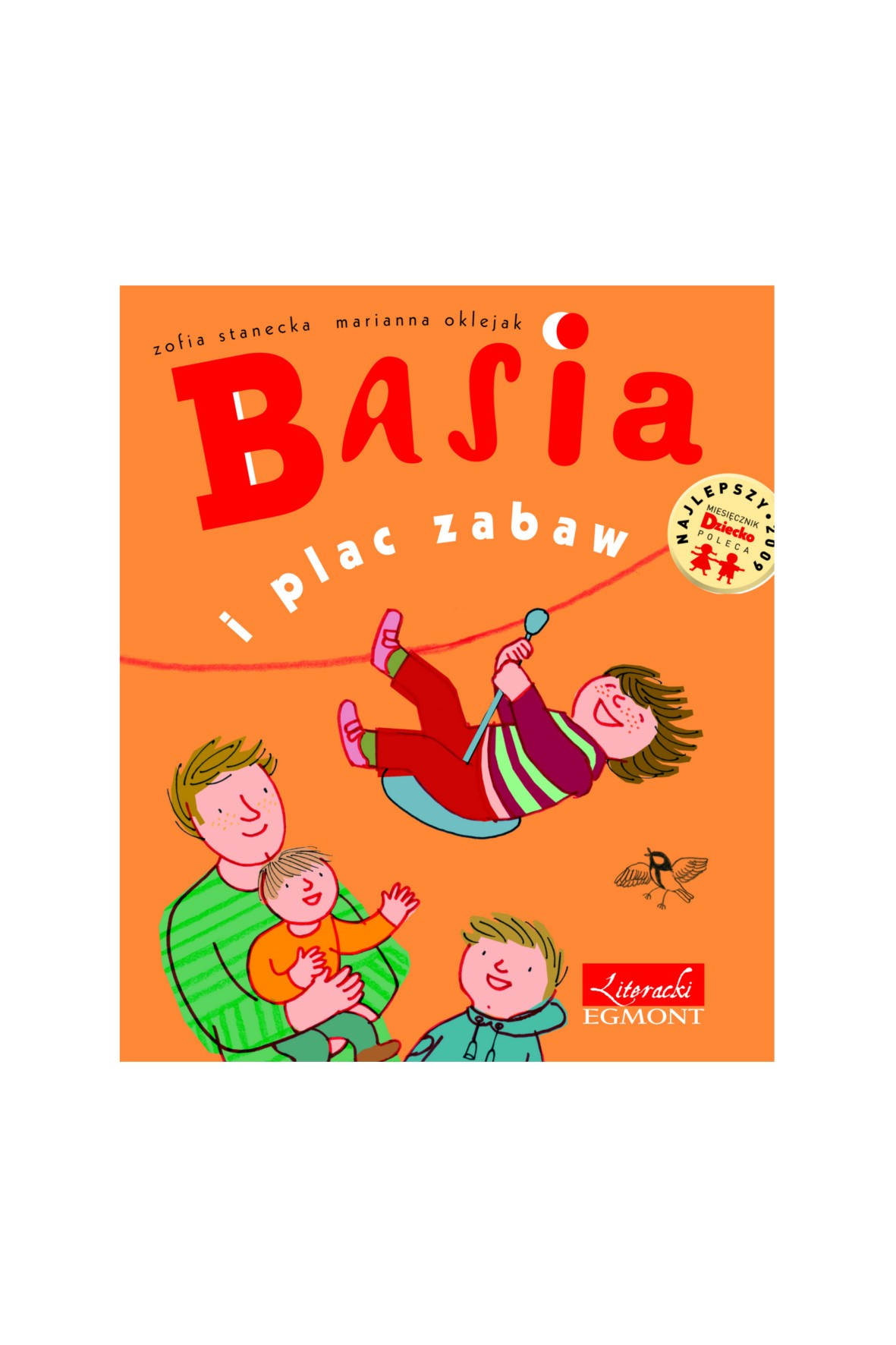 """Książka """"Basia i plac zabaw"""""""