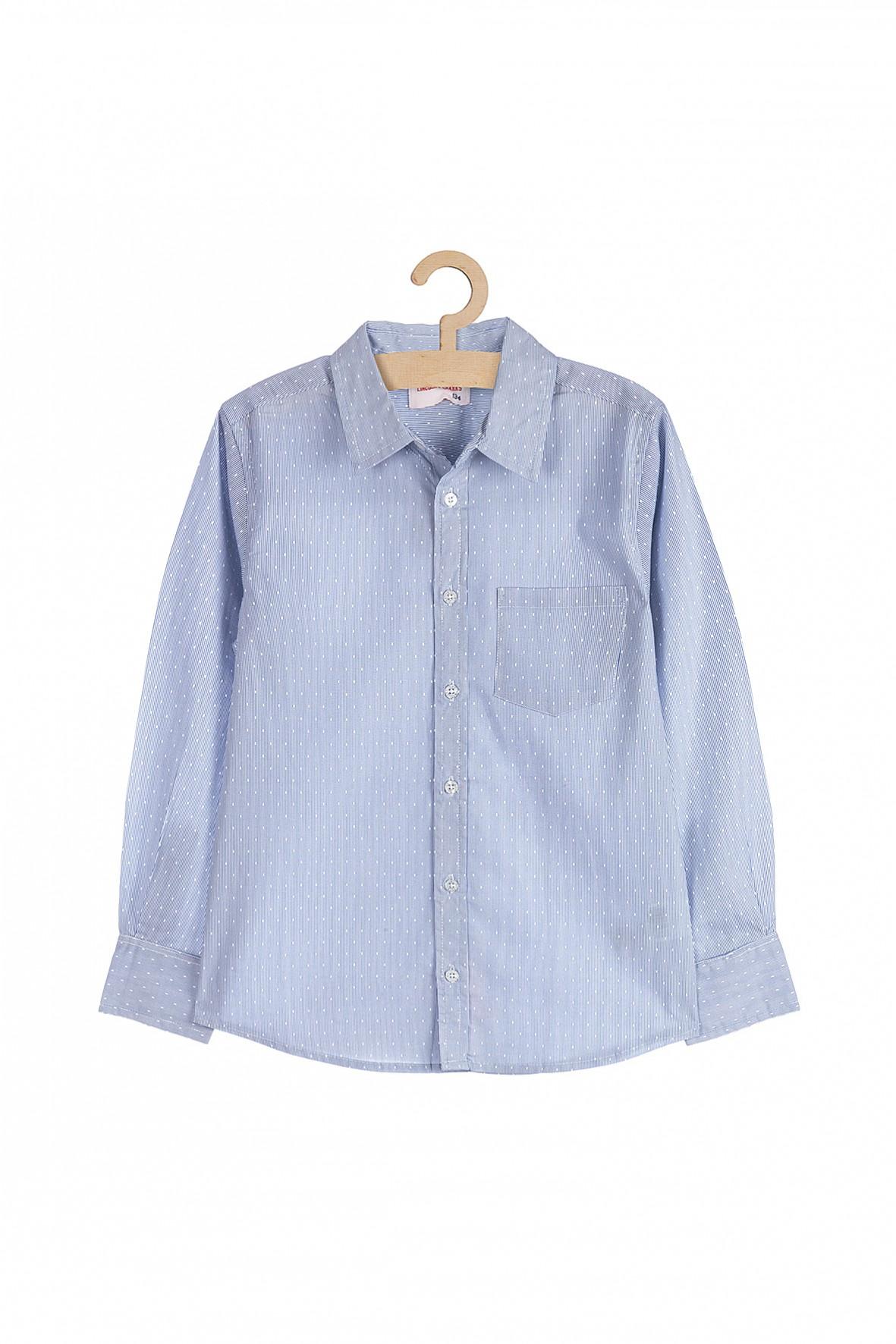Koszula chłopięca- niebieska