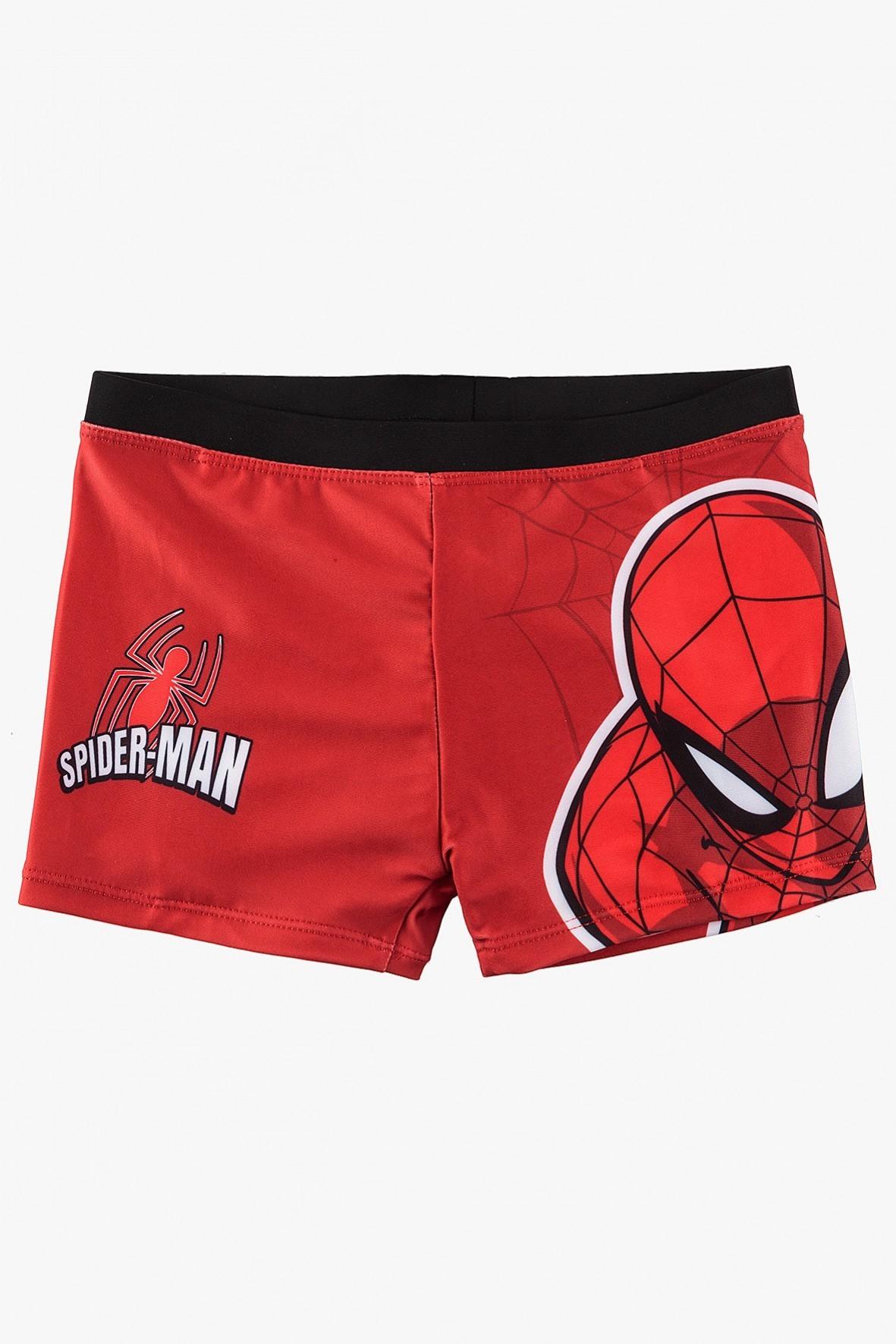 Kąpielówki chłopięce czerwone Spiderman