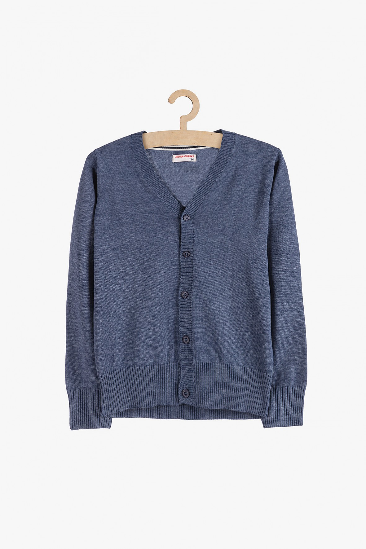 Sweterek dla chłopca - niebieski