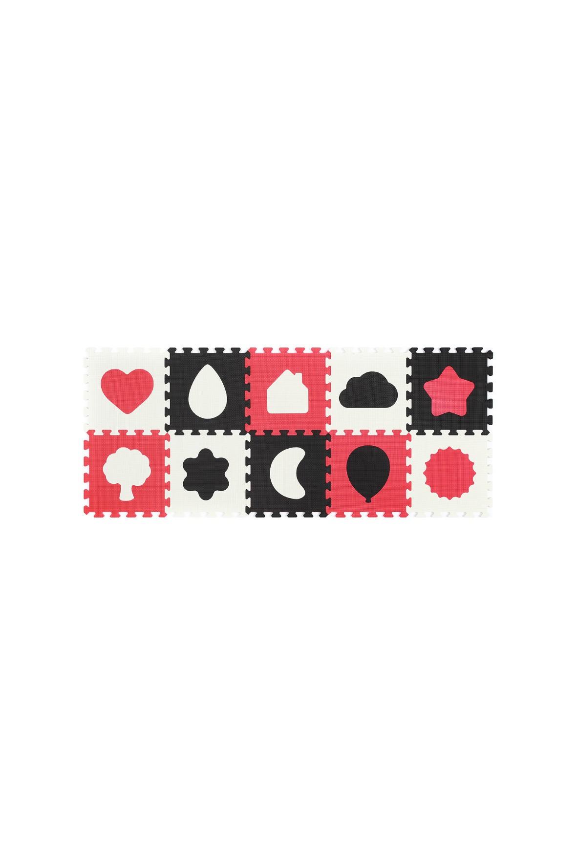 Puzzle piankowe 10el kształty