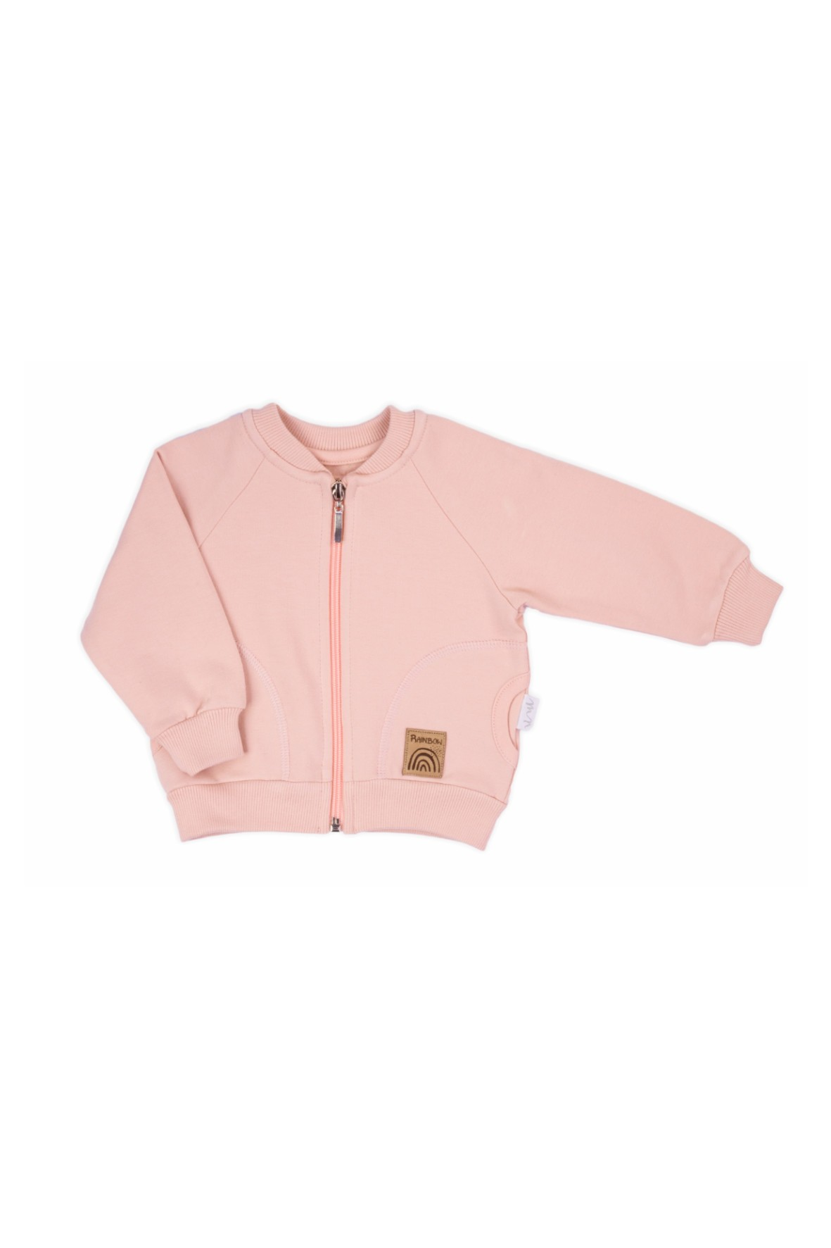 Bluza dresowa dziewczęca- różowa