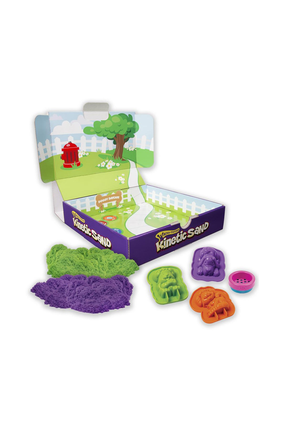 Piasek Kinetic Sand foremki