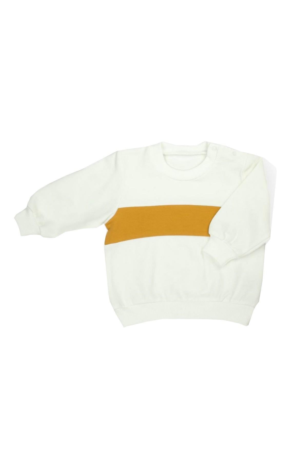 Kremowa bluza dresowa dla dziewczynki