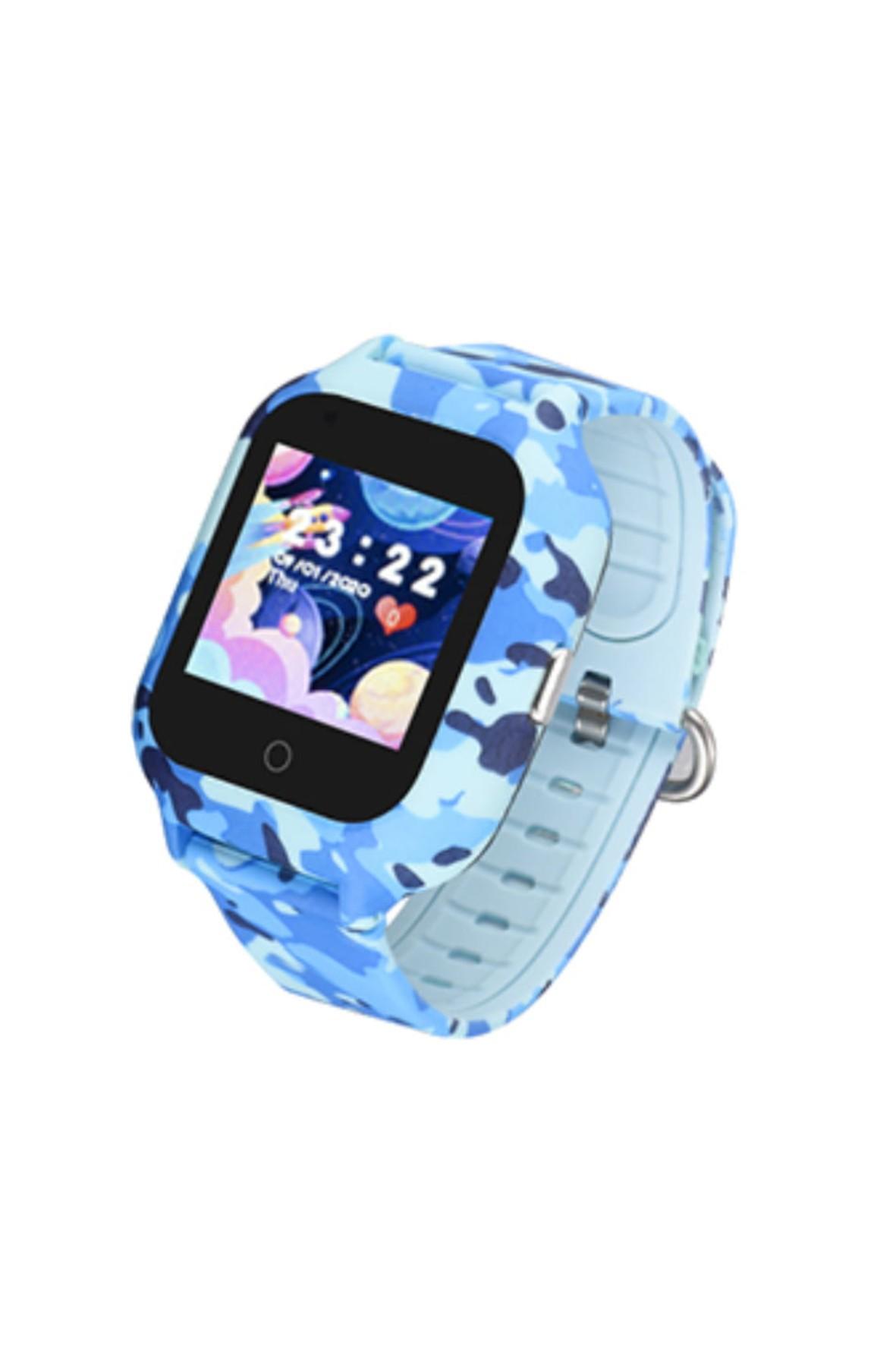 Smartwatch Garett Kids Moro 4G - niebieski