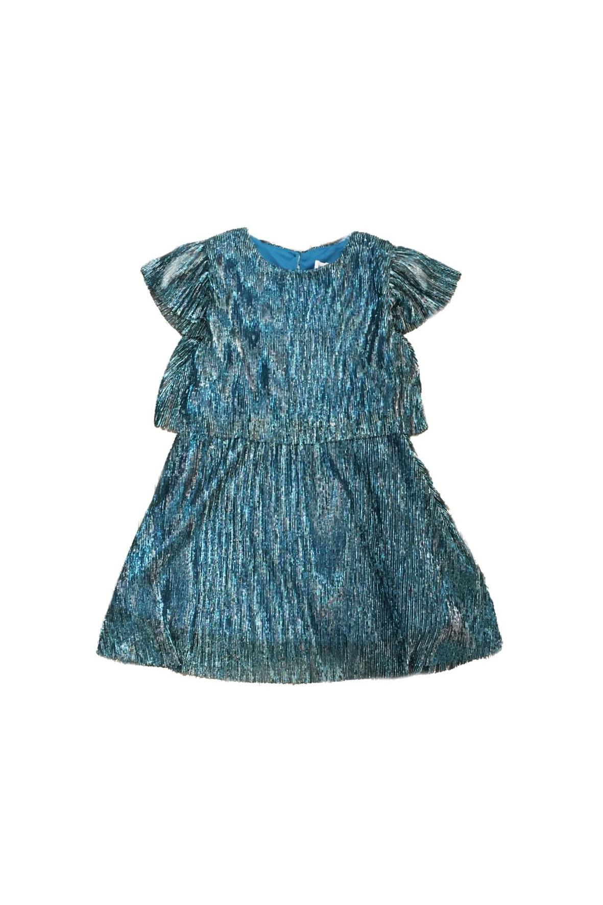 Elegancka sukienka na specjalne okazje-niebieska
