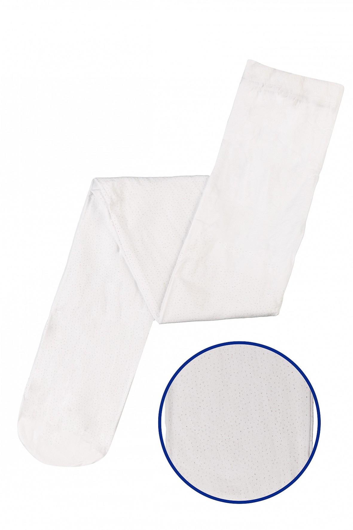 Białe-cienkie rajstopki dla dziewczynki