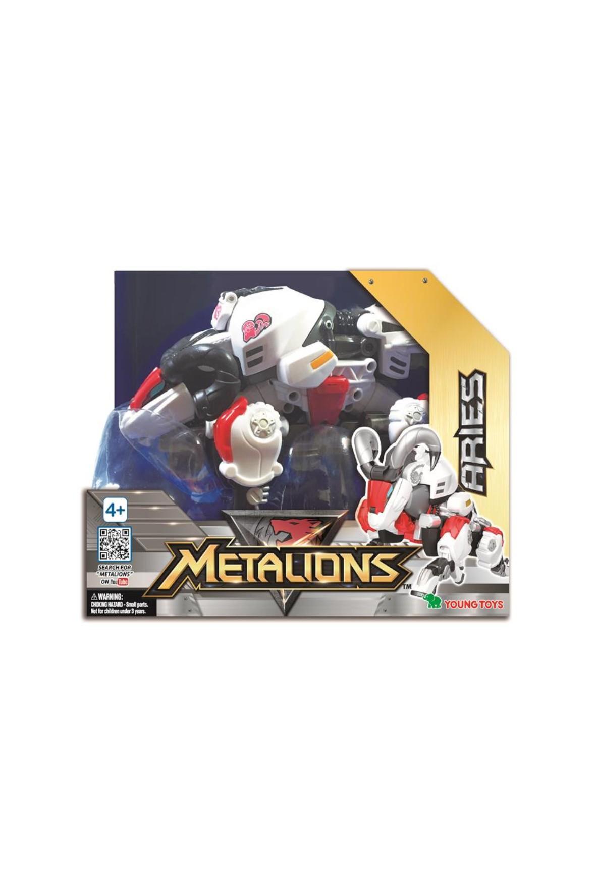 Metalions Aries Robot transformer figurka wiek 4+
