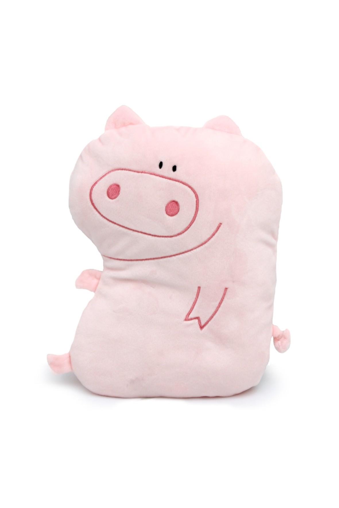 Poduszka różowa świanka FUN TIME