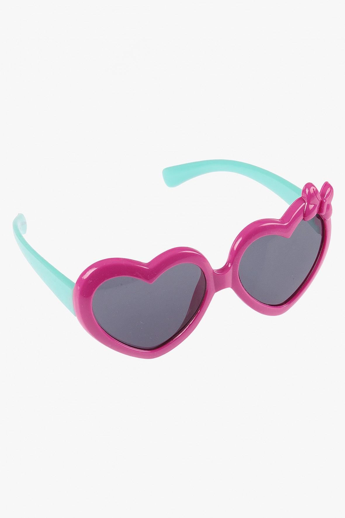 Okulary przeciwsłoneczne w kształcie serca