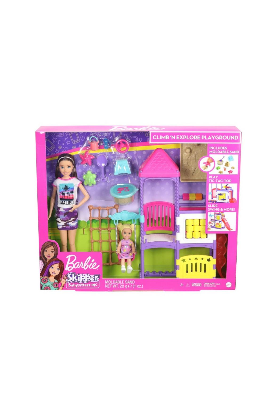 Barbie Skipper Klub opiekunek - Plac zabaw wiek 3+