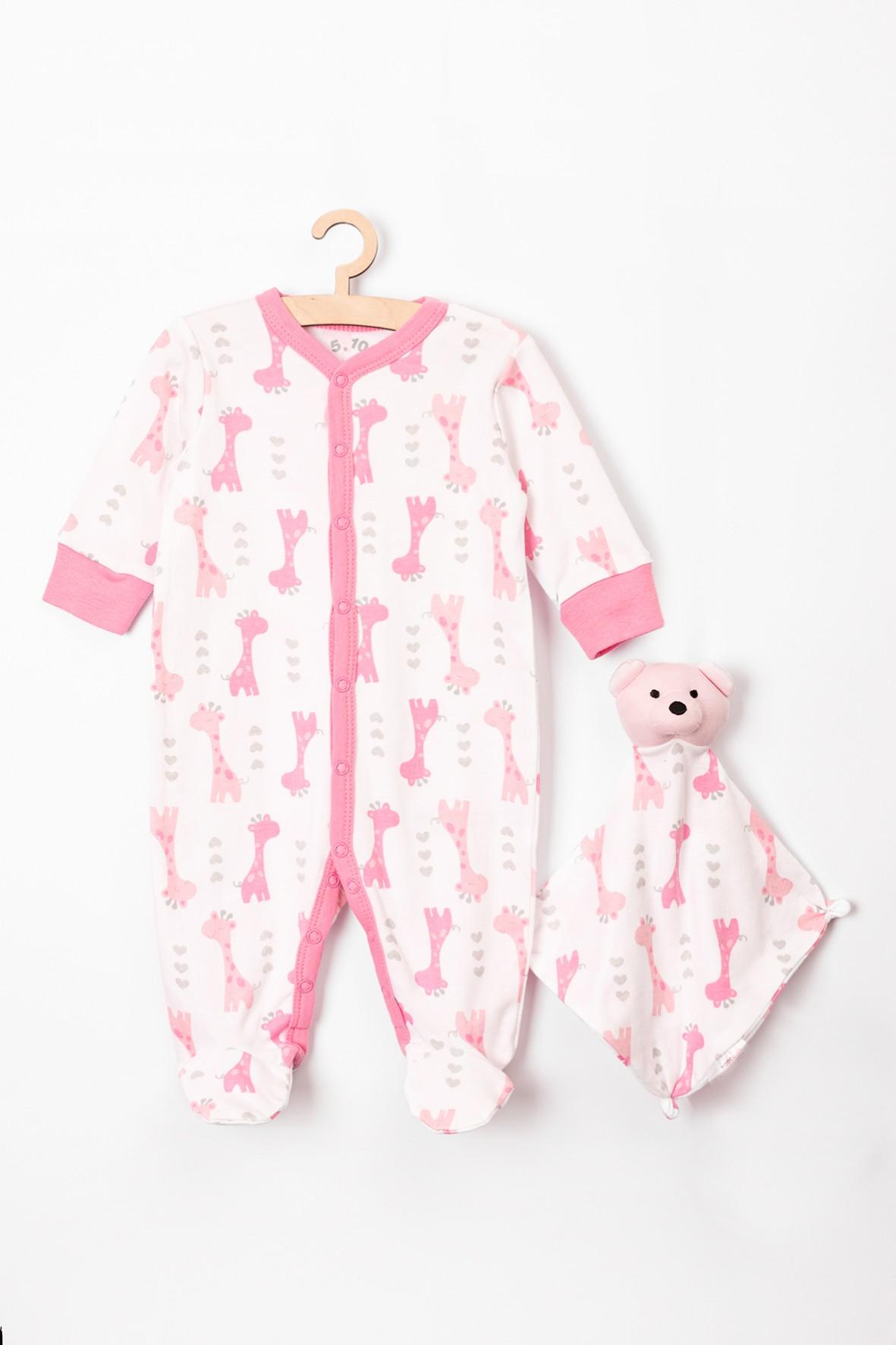 Zestaw niemowlęcy - Pajac i przytulanka