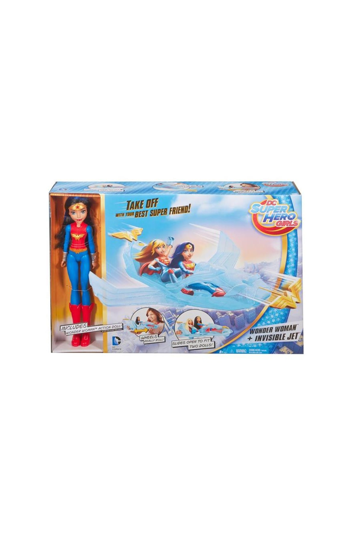 Lalka Wonder Woman z odrzutowcem 1Y33G0