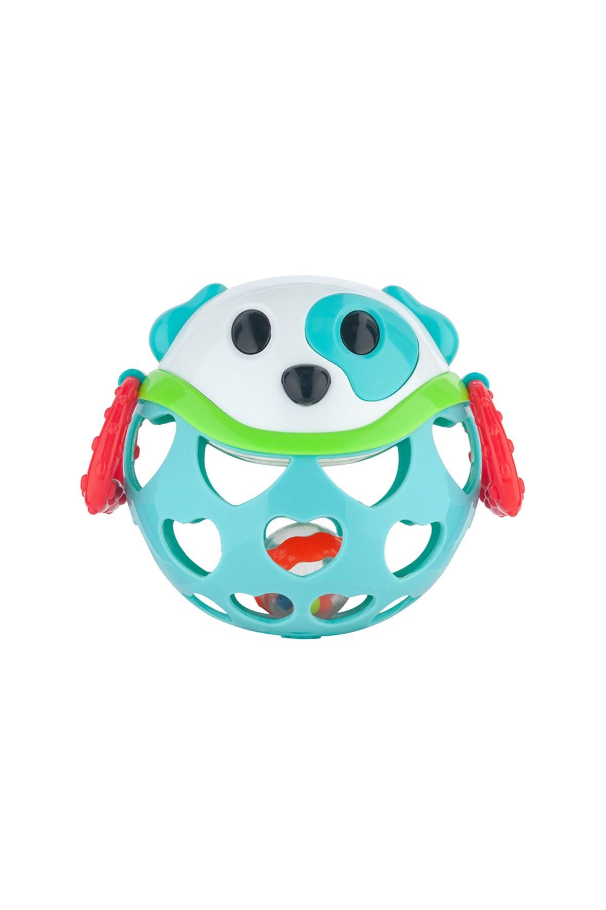Interaktywna zabawka dla niemowlaka z grzechotką-Pies