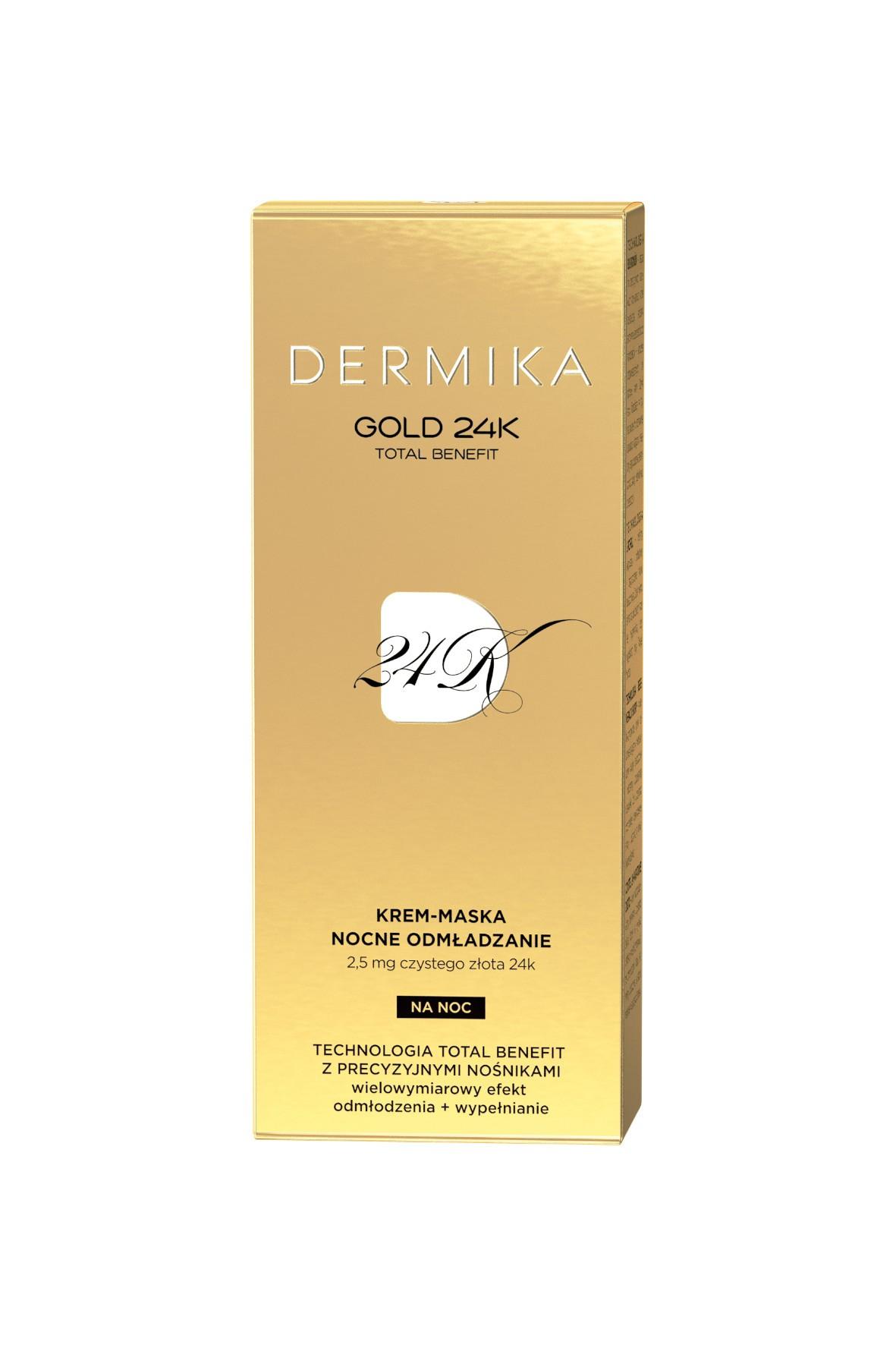 DERMIKA GOLD 24K krem-maska - 50 ml