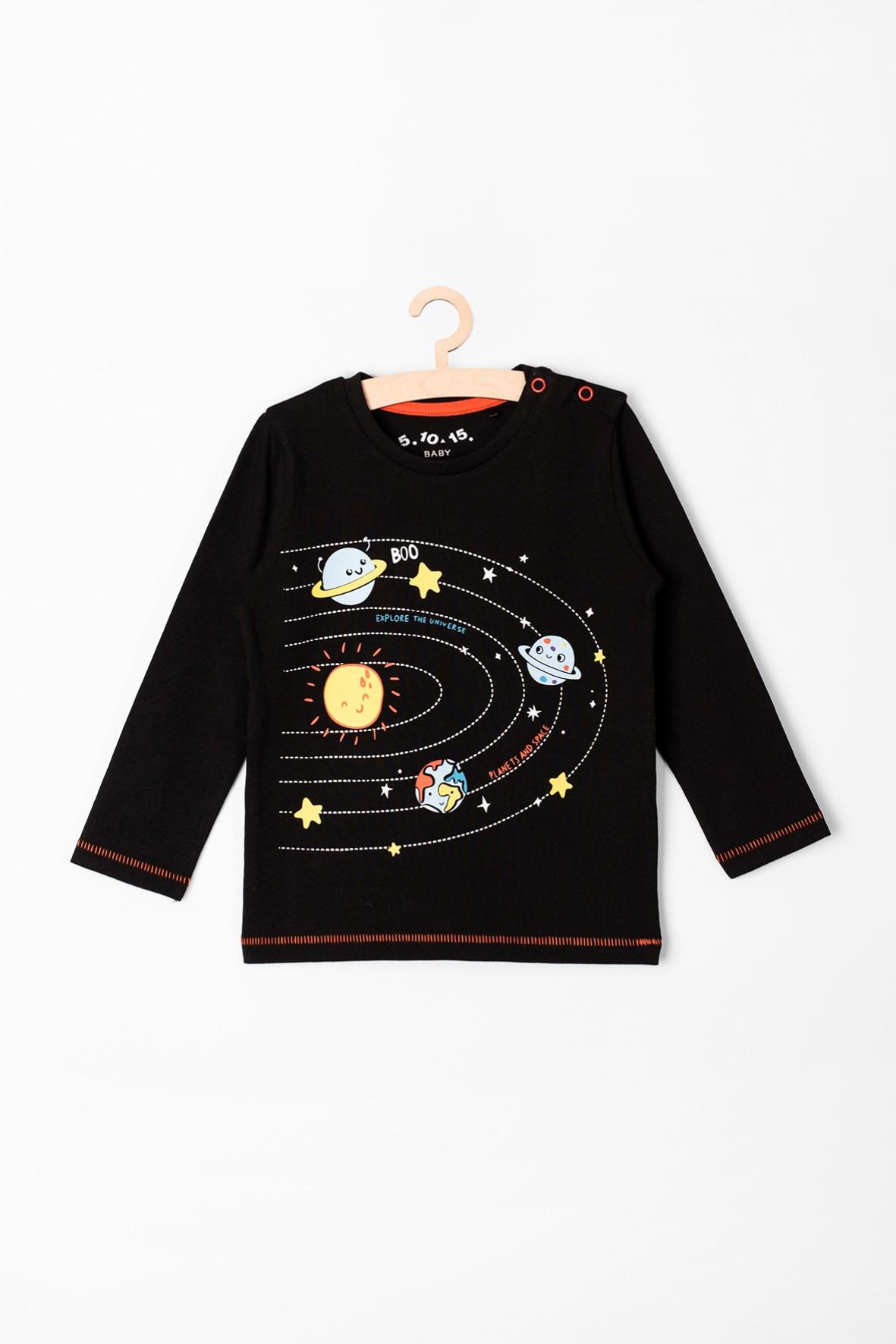 Bluzka niemowlęca z planetami
