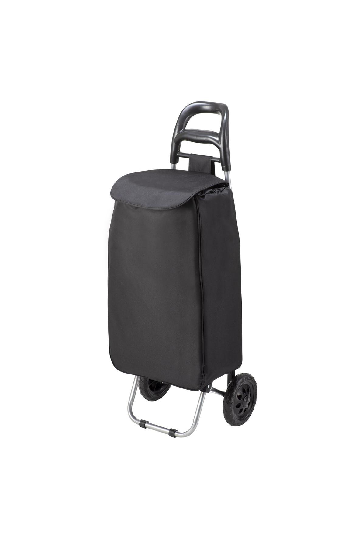 Wózek/torba za zakupy w kolorze granatowym- torba na kółkach