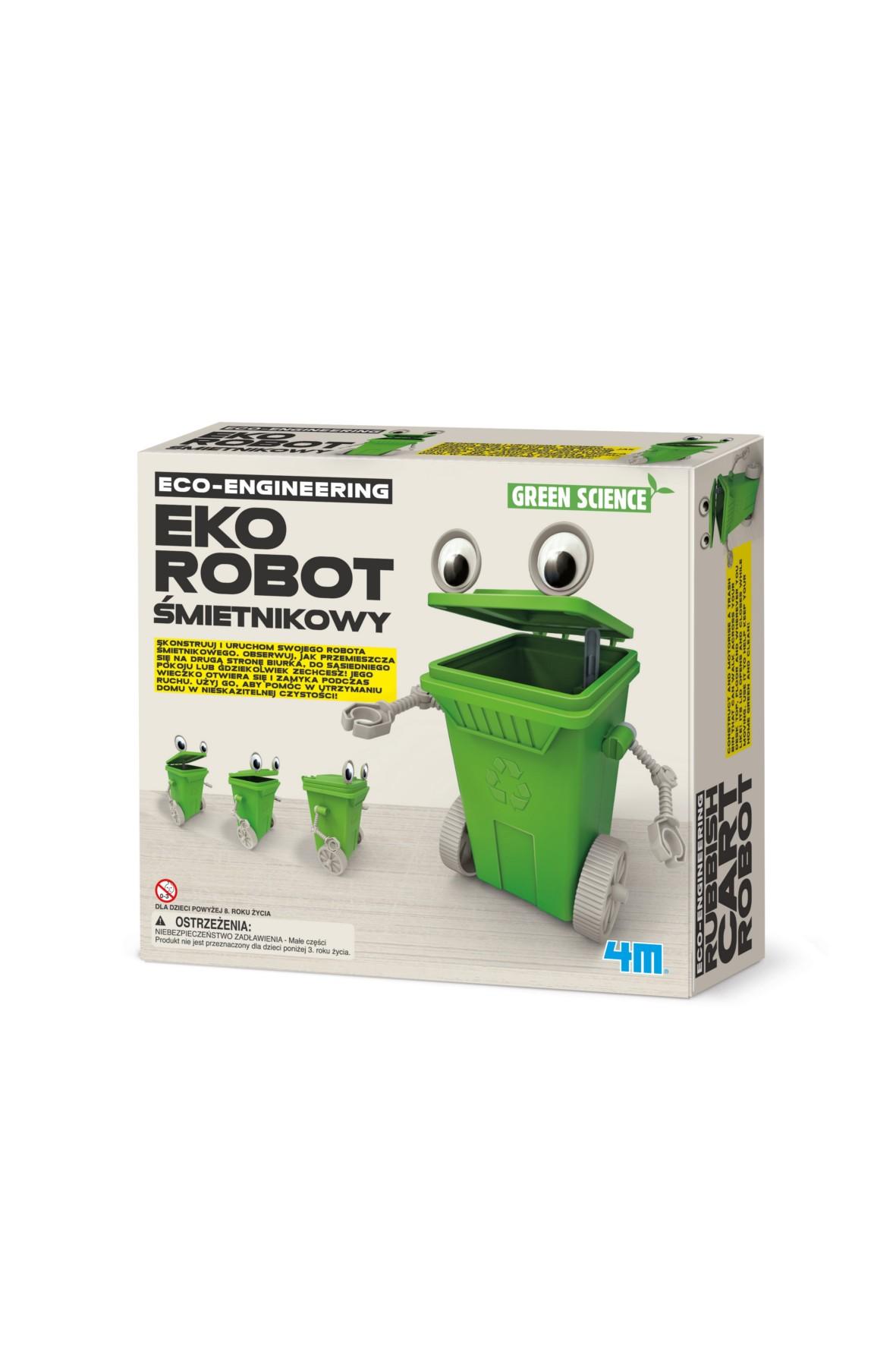 Eko-Robot Śmietnikowy